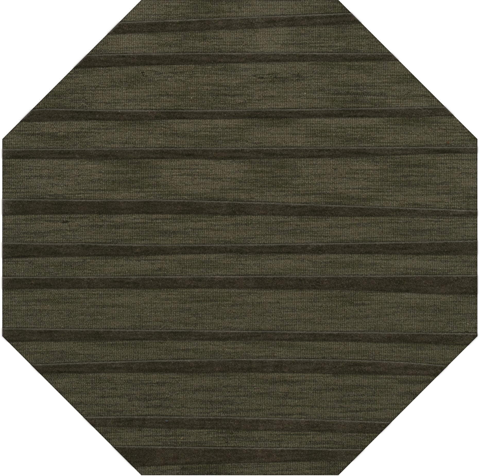 Dover Tufted Wool Fern Area Rug Rug Size: Octagon 6'