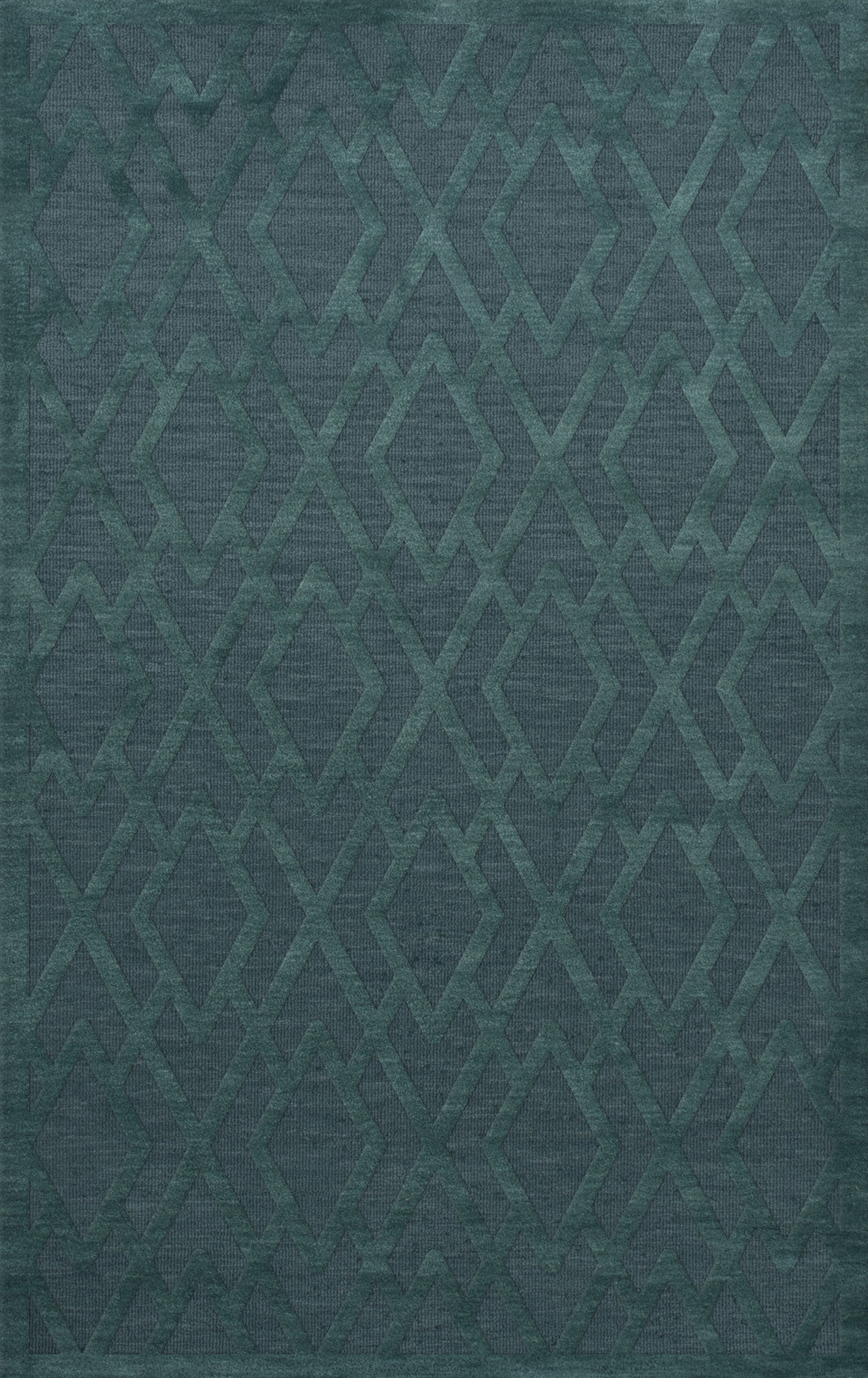 Dover Teal Area Rug Rug Size: Rectangle 6' x 9'