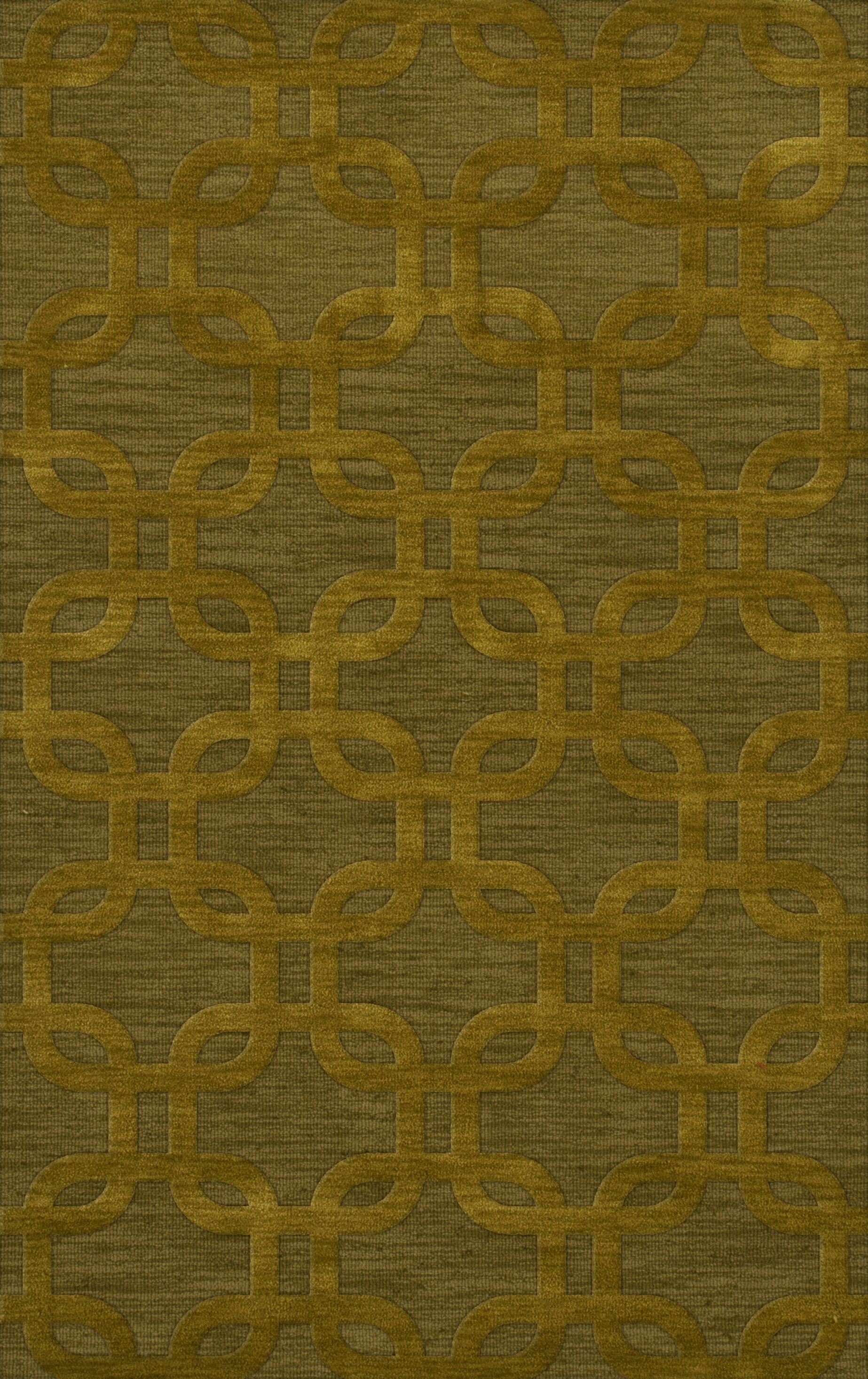 Dover Avocado Area Rug Rug Size: Rectangle 3' x 5'