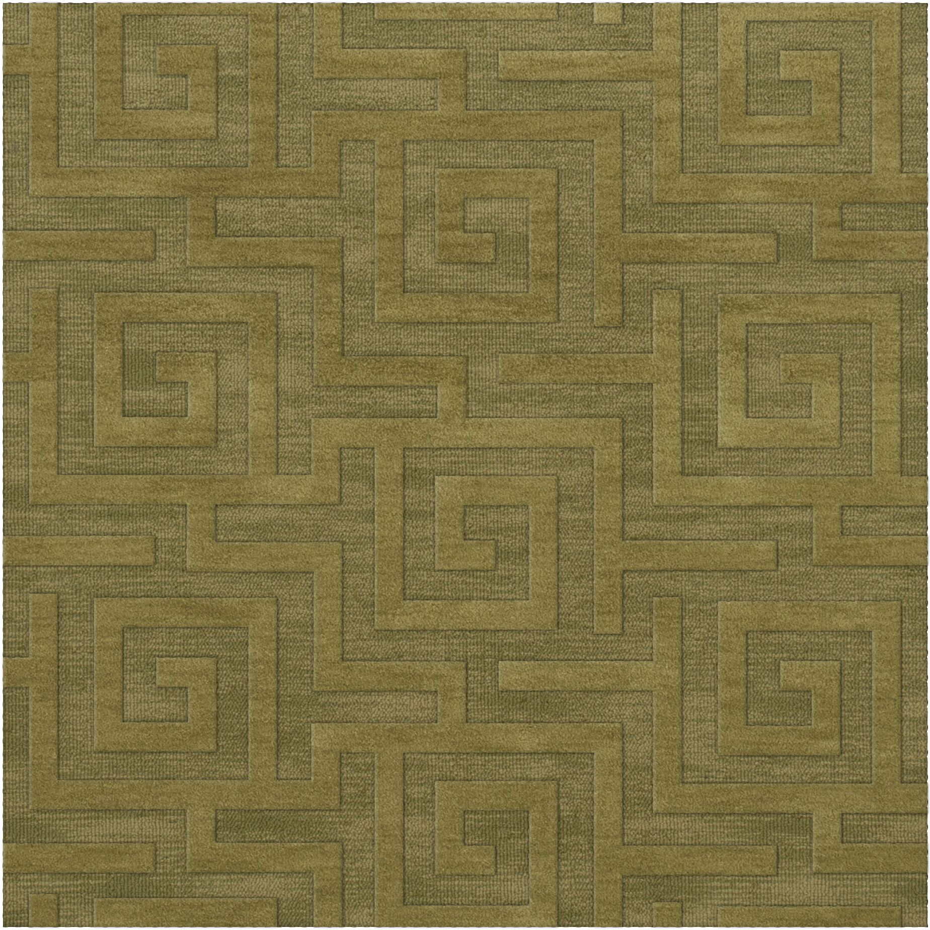 Dover Tufted Wool Pear Area Rug Rug Size: Square 8'