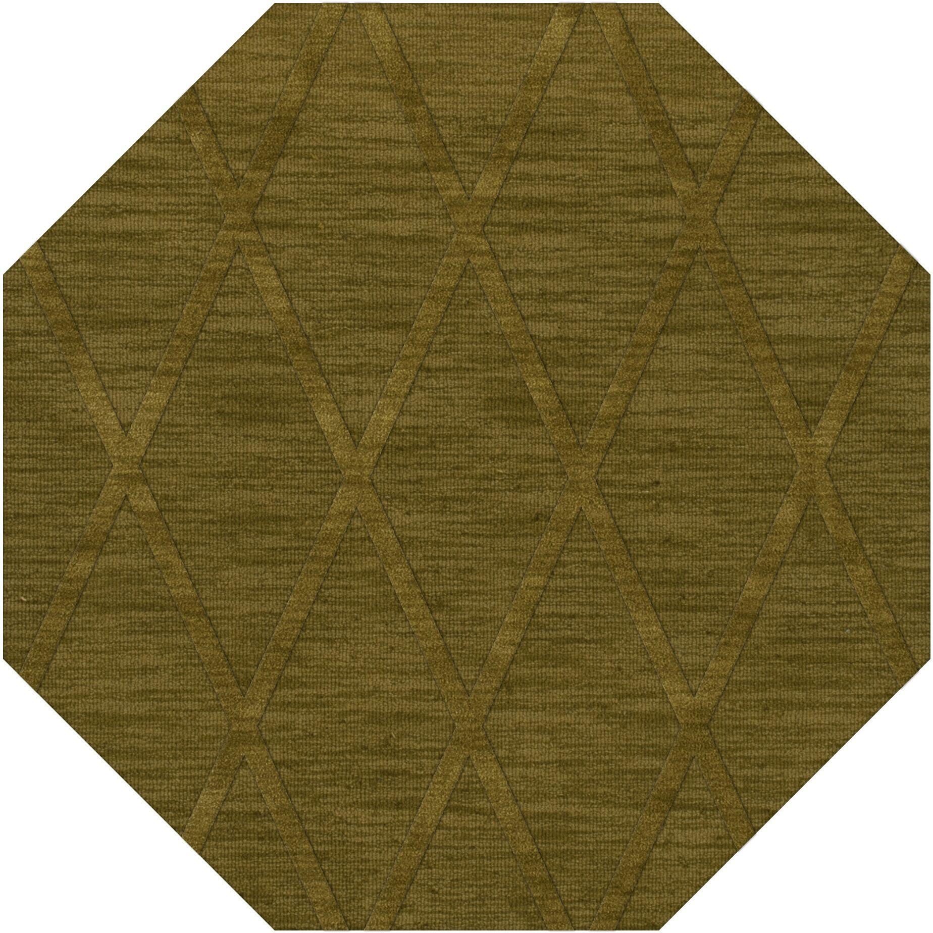 Dover Tufted Wool Avocado Area Rug Rug Size: Octagon 12'