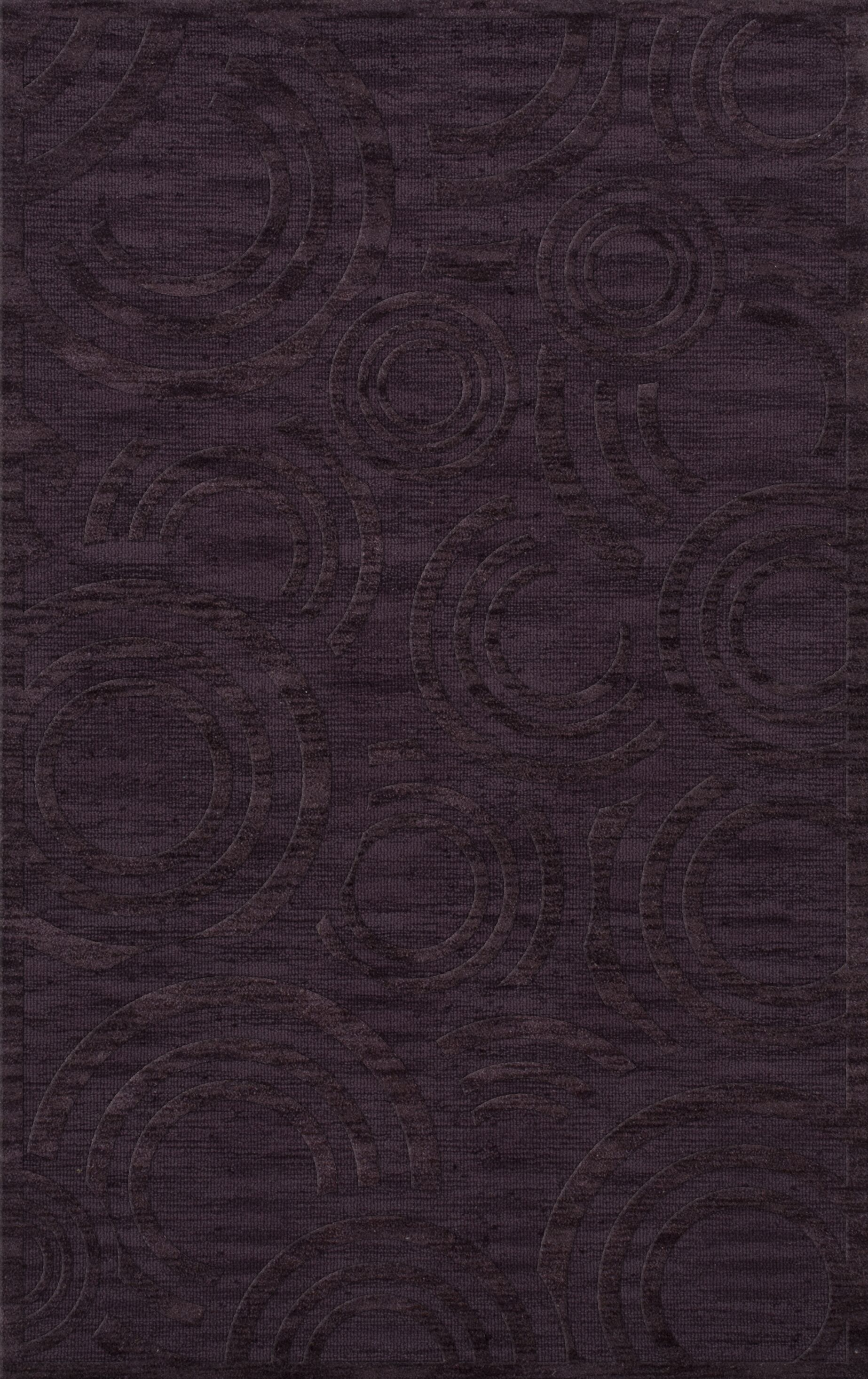 Dover Tufted Wool Grape Ice Area Rug Rug Size: Rectangle 12' x 15'
