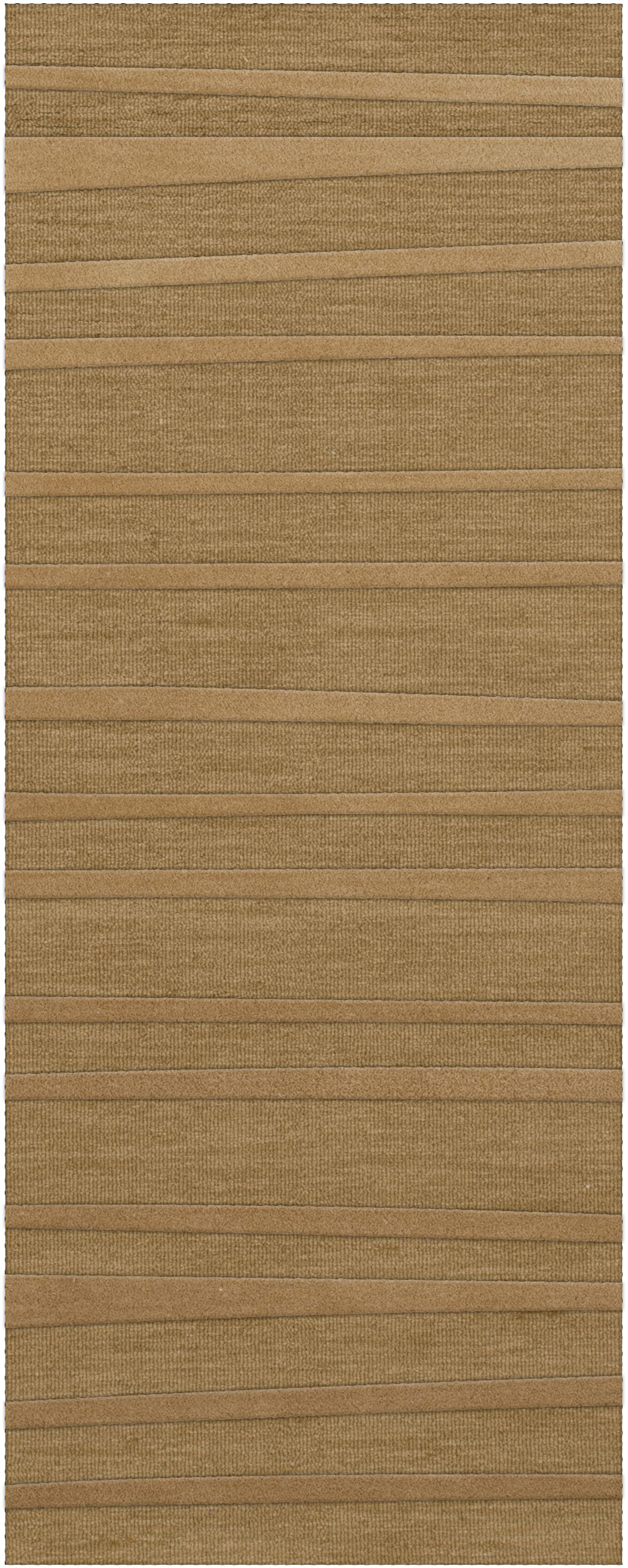 Dover Tufted Wool Wheat Area Rug Rug Size: Runner 2'6