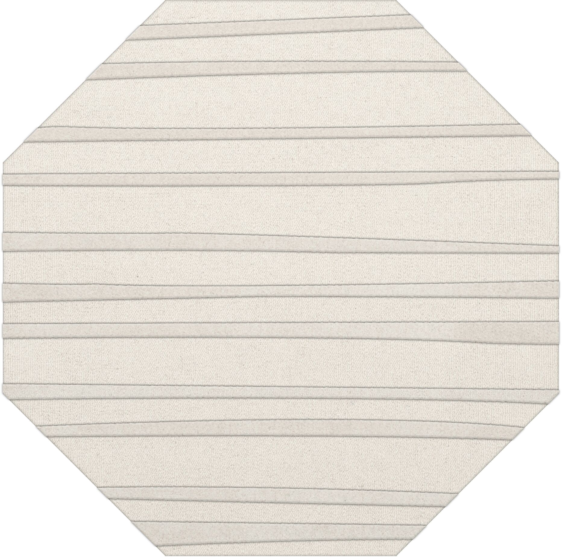 Dover Tufted Wool Snow Area Rug Rug Size: Octagon 10'