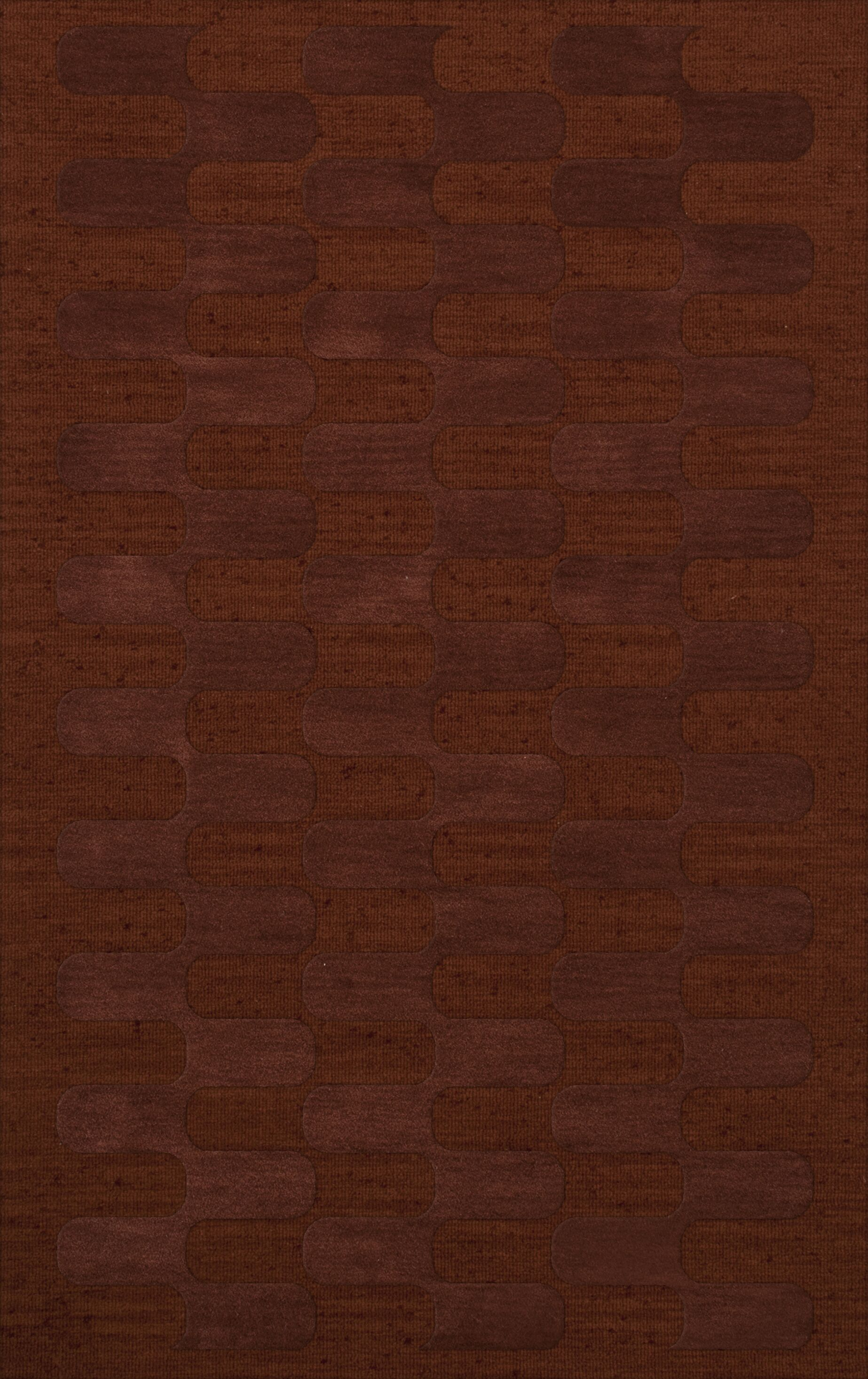 Dover Paprika Area Rug Rug Size: Rectangle 12' x 15'