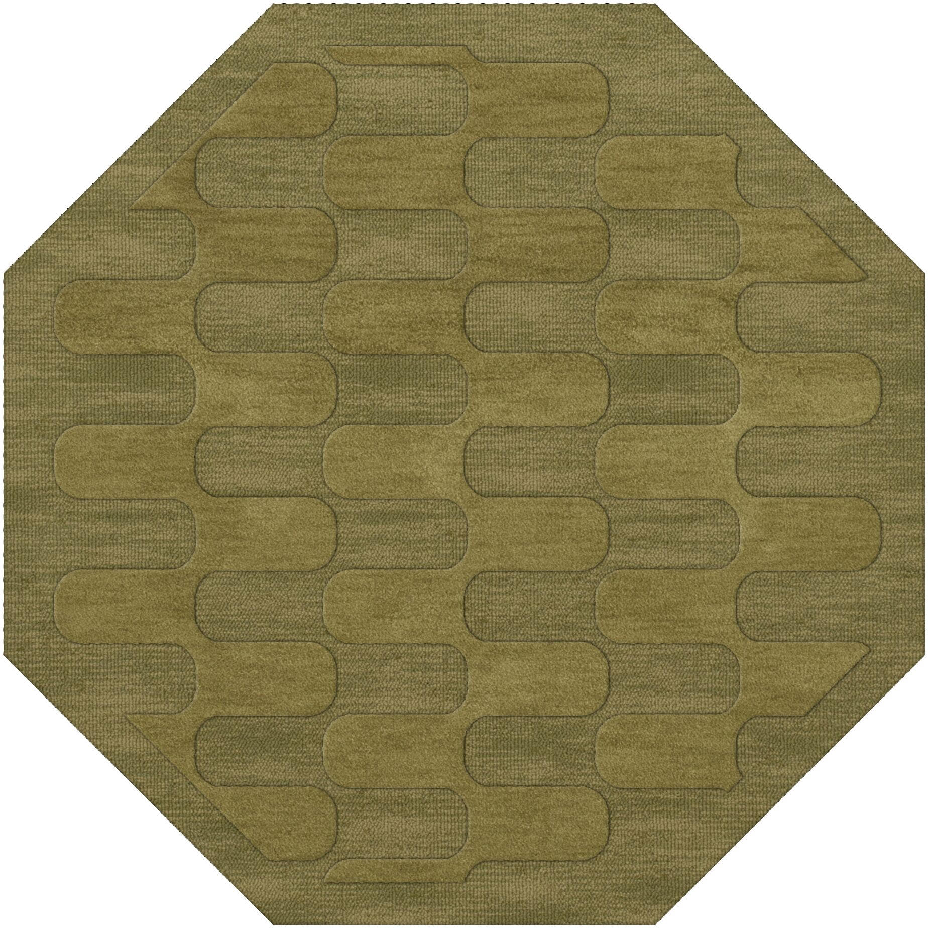 Dover Pear Area Rug Rug Size: Octagon 12'