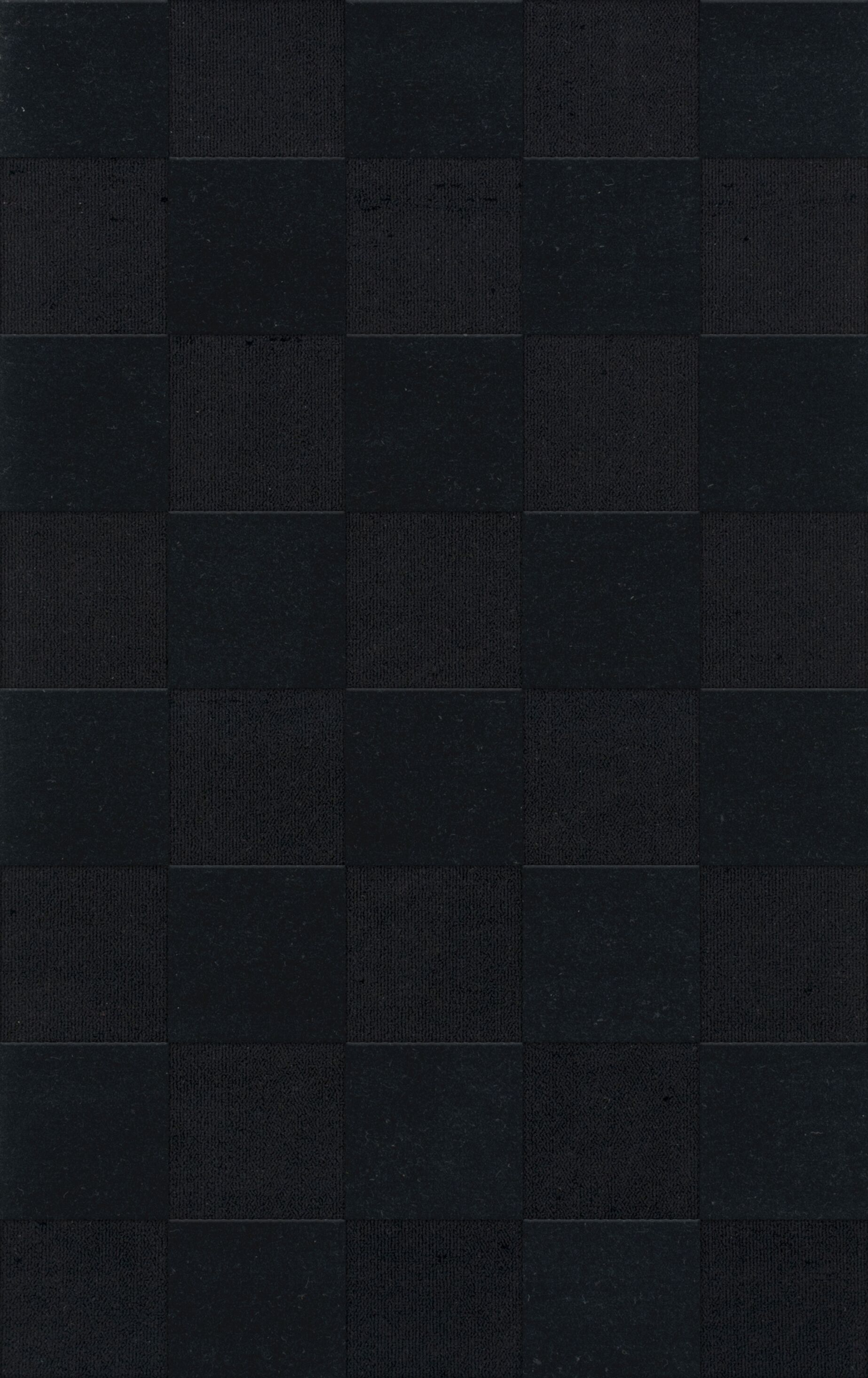 Dover Tufted Wool Black Area Rug Rug Size: Rectangle 4' x 6'