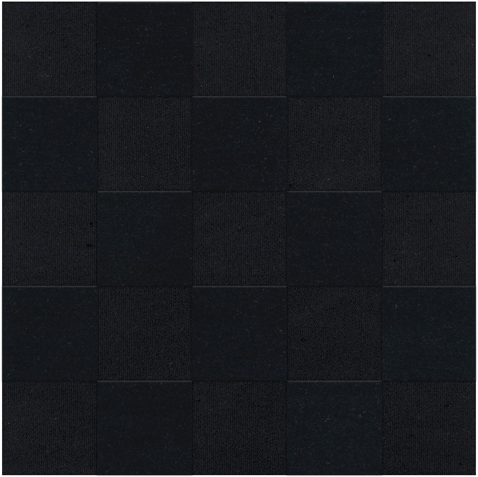 Dover Tufted Wool Black Area Rug Rug Size: Square 10'
