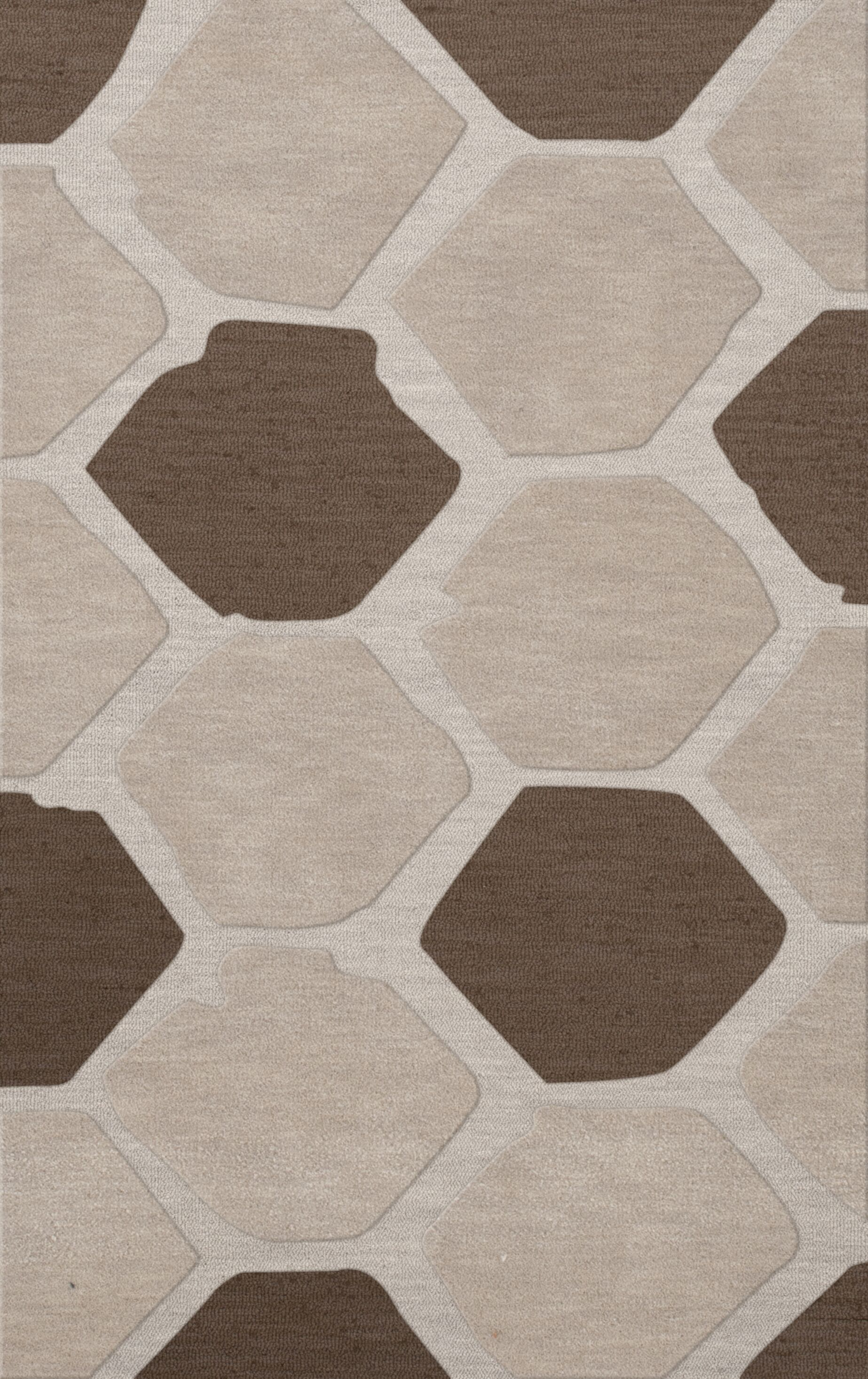 Dunson Wool Croissant Area Rug Rug Size: Rectangle 12' x 15'