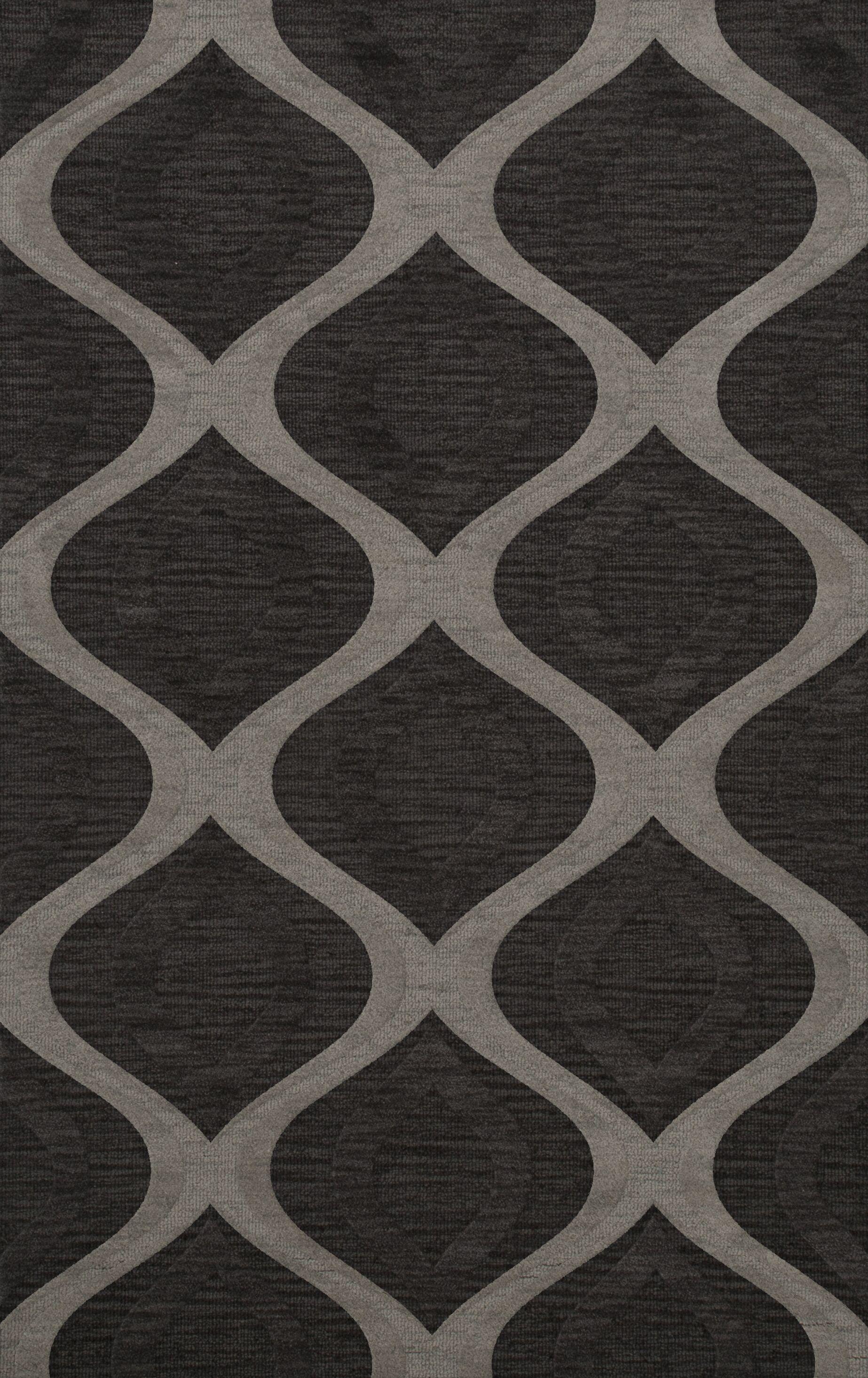 Sarahi Wool Metal Area Rug Rug Size: Rectangle 5' x 8'