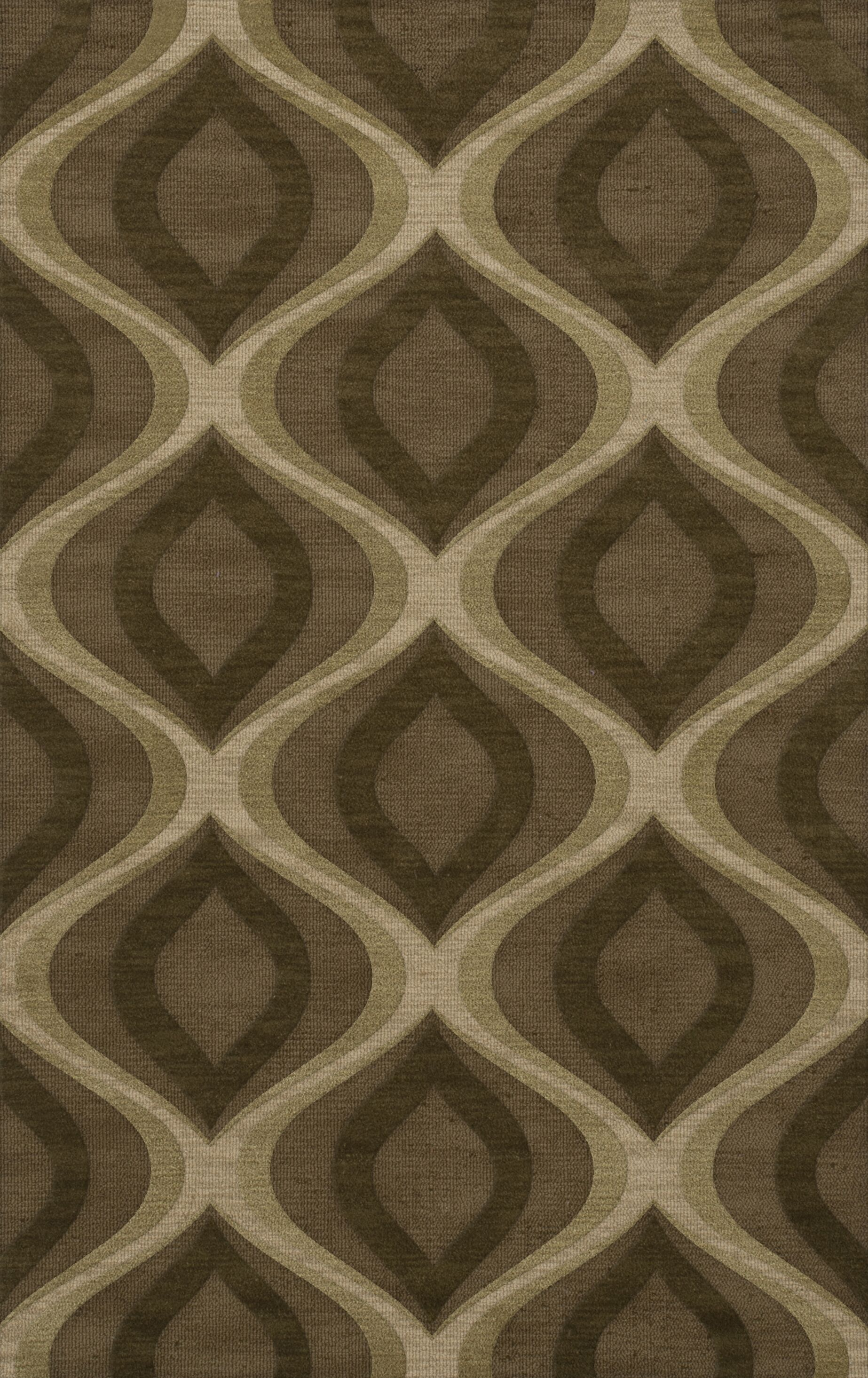 Estelle Wool Oasis Area Rug Rug Size: Rectangle 3' x 5'