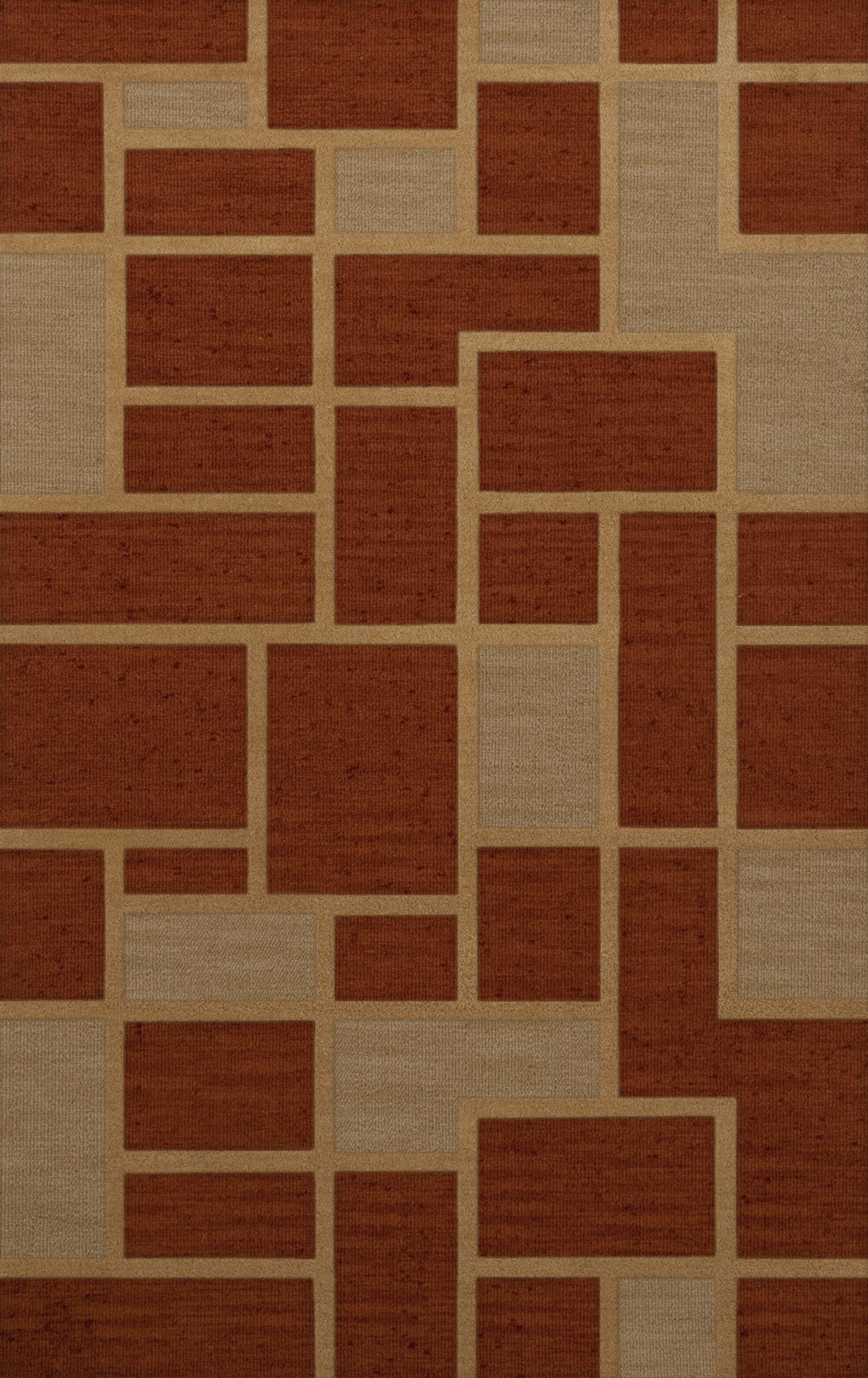 Hallenbeck Wool Wheat Area Rug Rug Size: Rectangle 3' x 5'