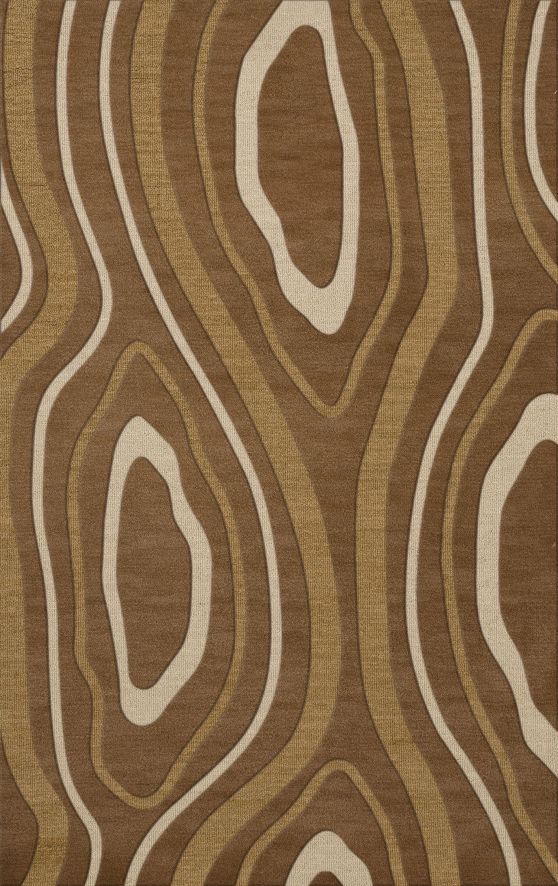 Sarahi Wool Rattan Area Rug Rug Size: Rectangle 4' x 6'