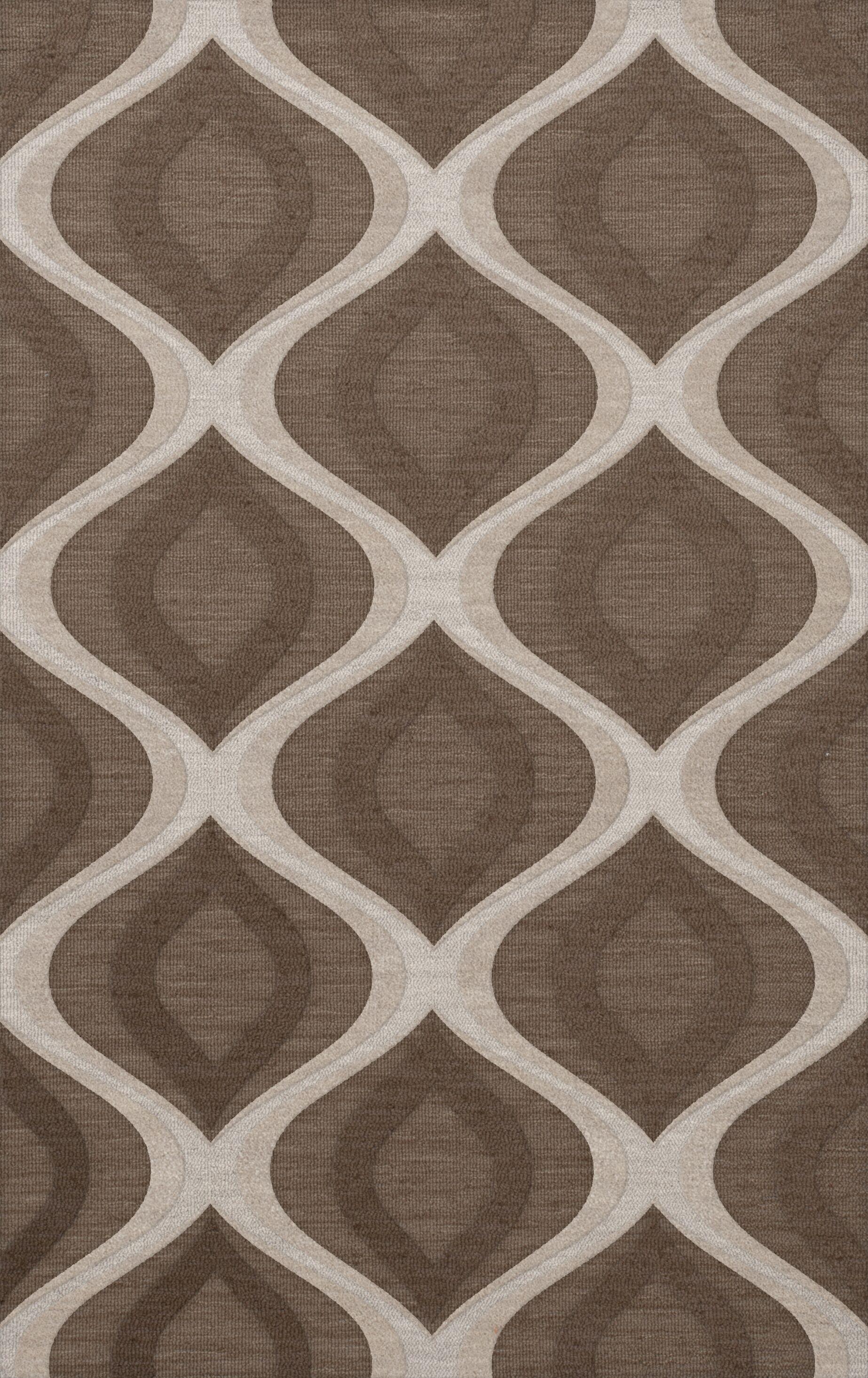 Kaidence Wool Pebble Area Rug Rug Size: Rectangle 5' x 8'