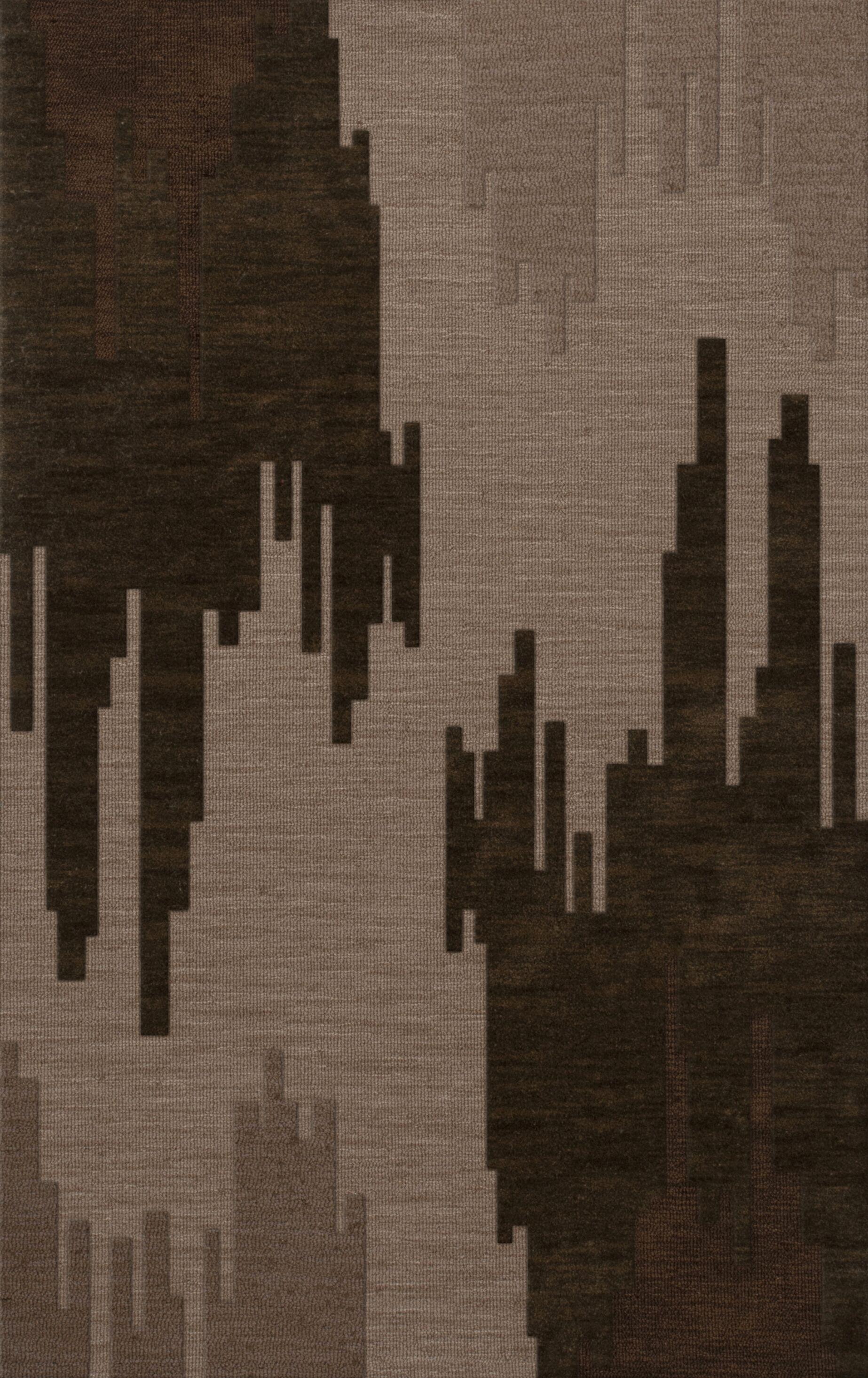 Haskin Wool Earth Area Rug Rug Size: Rectangle 6' x 9'