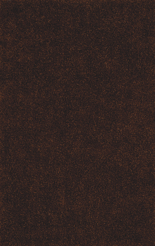 Nan Shag Chocolate Area Rug Rug Size: Rectangle 9' x 13'