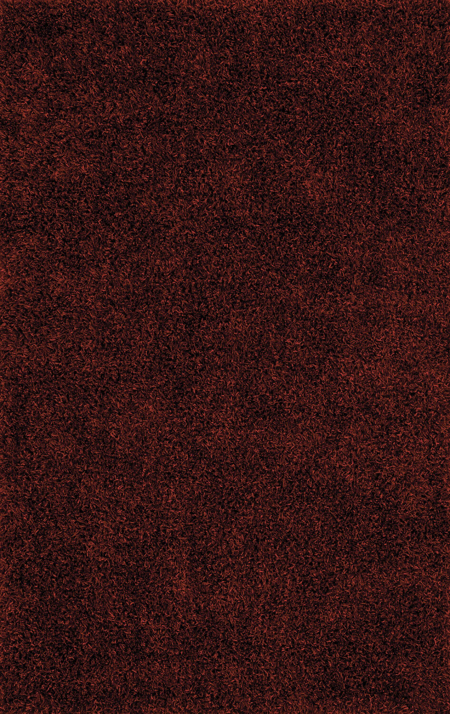 Nan Paprika Shag Area Rug Rug Size: Rectangle 8' x 10'