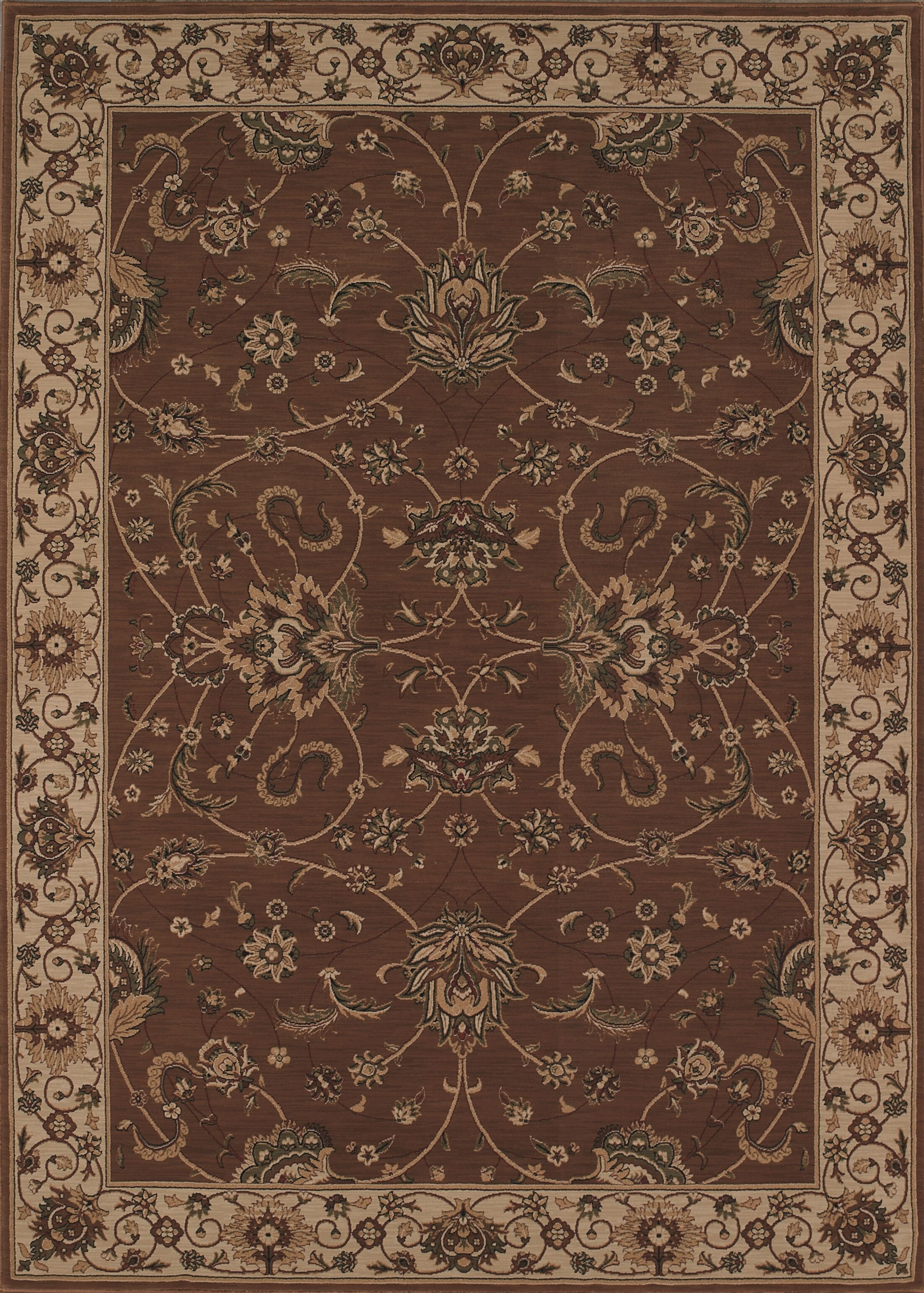 Imperial Chocolate Area Rug Rug Size: Rectangle 9'7