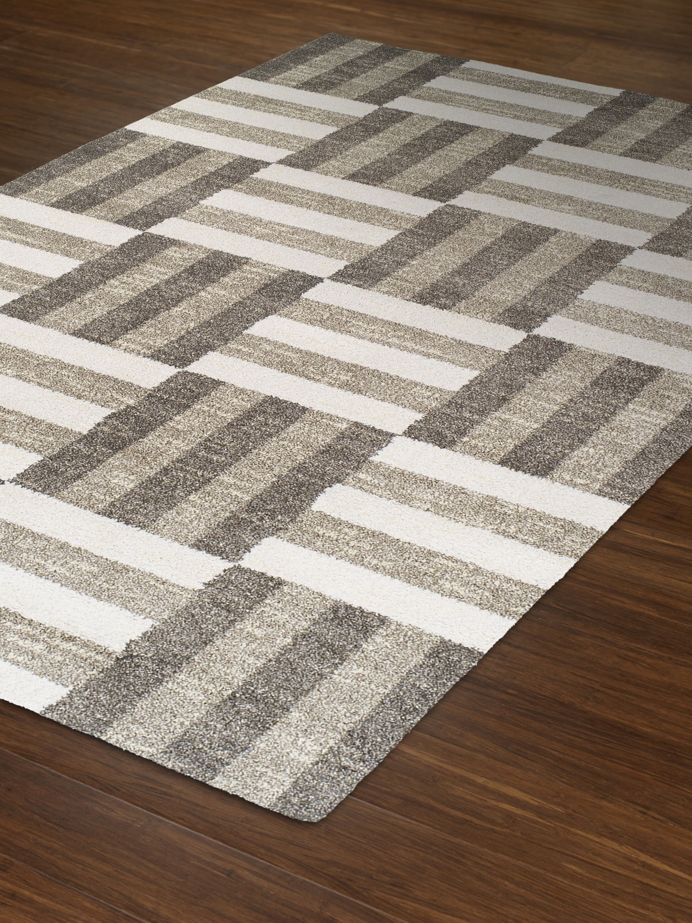 Omega Pewter Area Rug Rug Size: Rectangle 7'10
