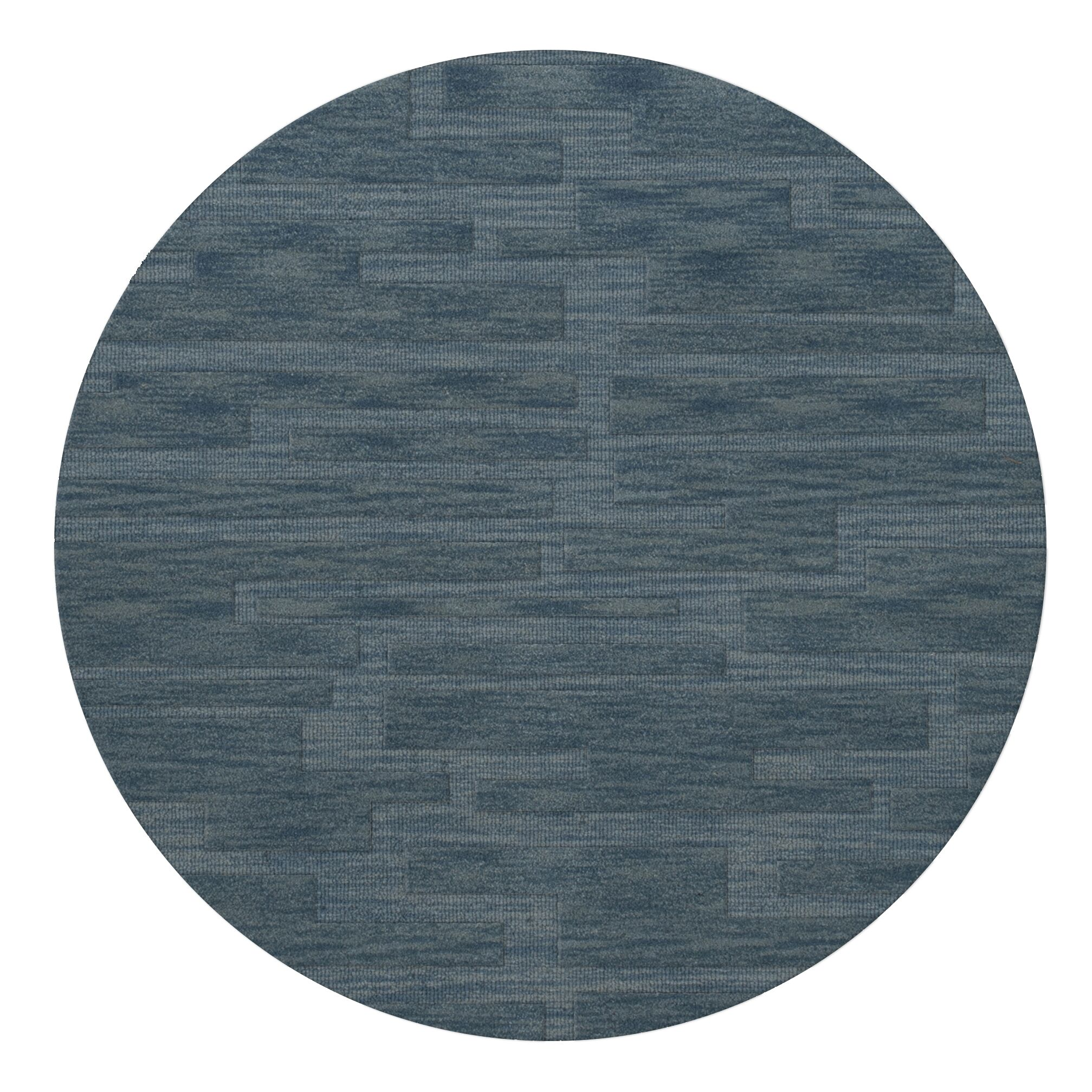 Dover Sky Area Rug Rug Size: Round 8'