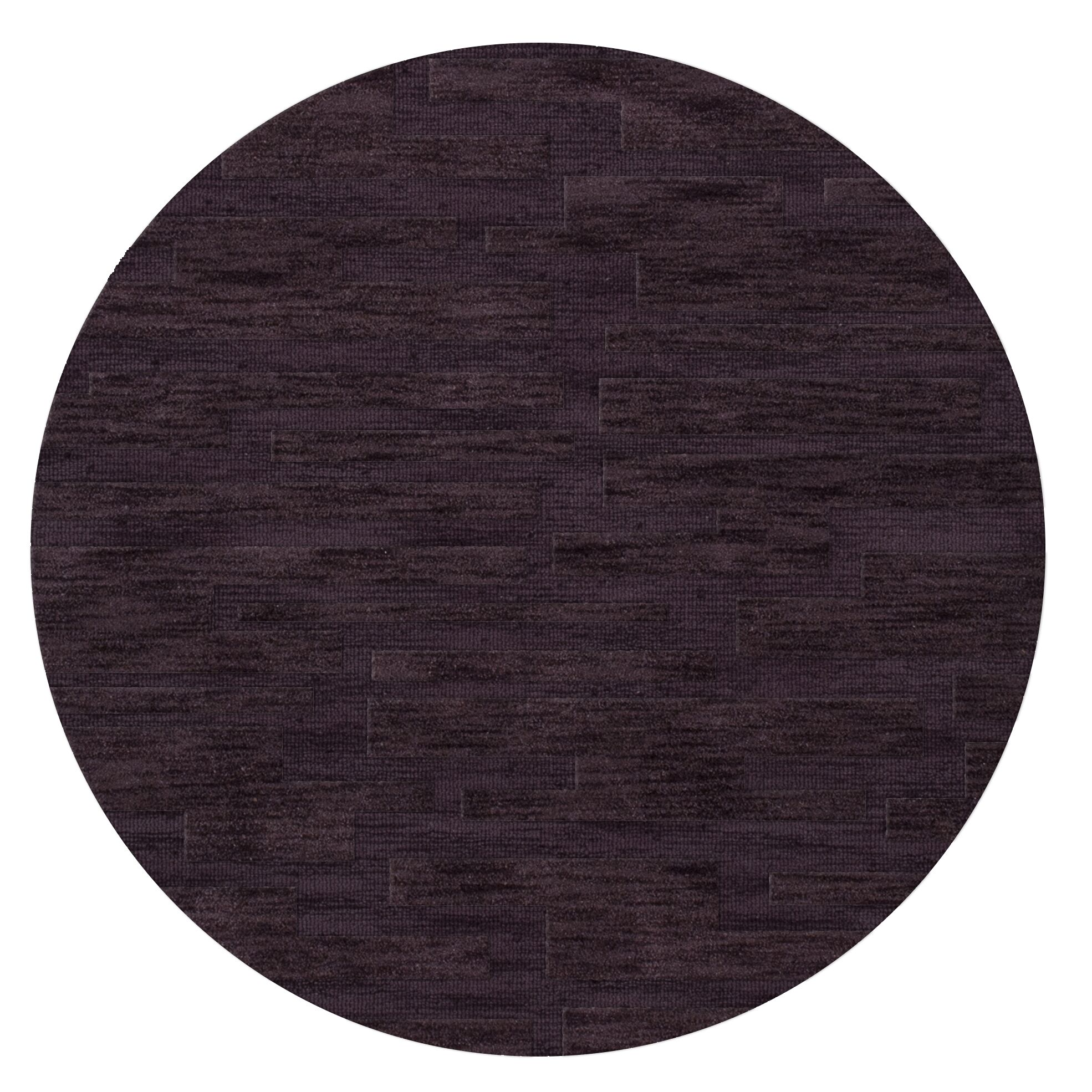 Dover Grape Ice Area Rug Rug Size: Round 6'