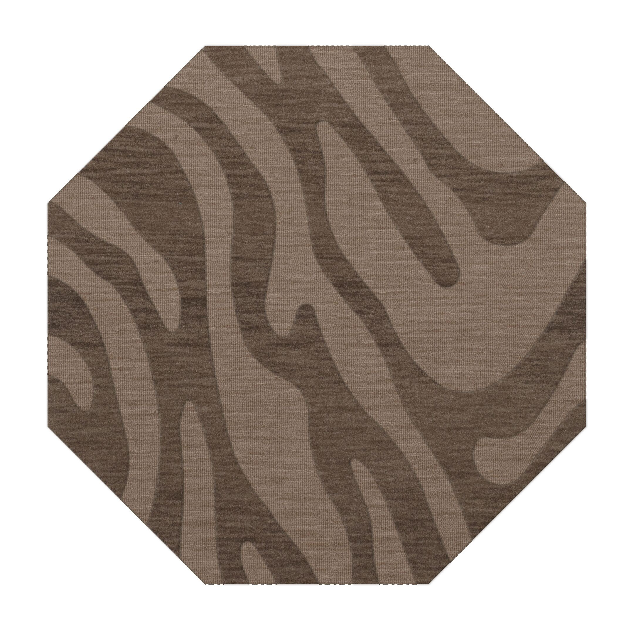 Dover Stone Area Rug Rug Size: Octagon 4'