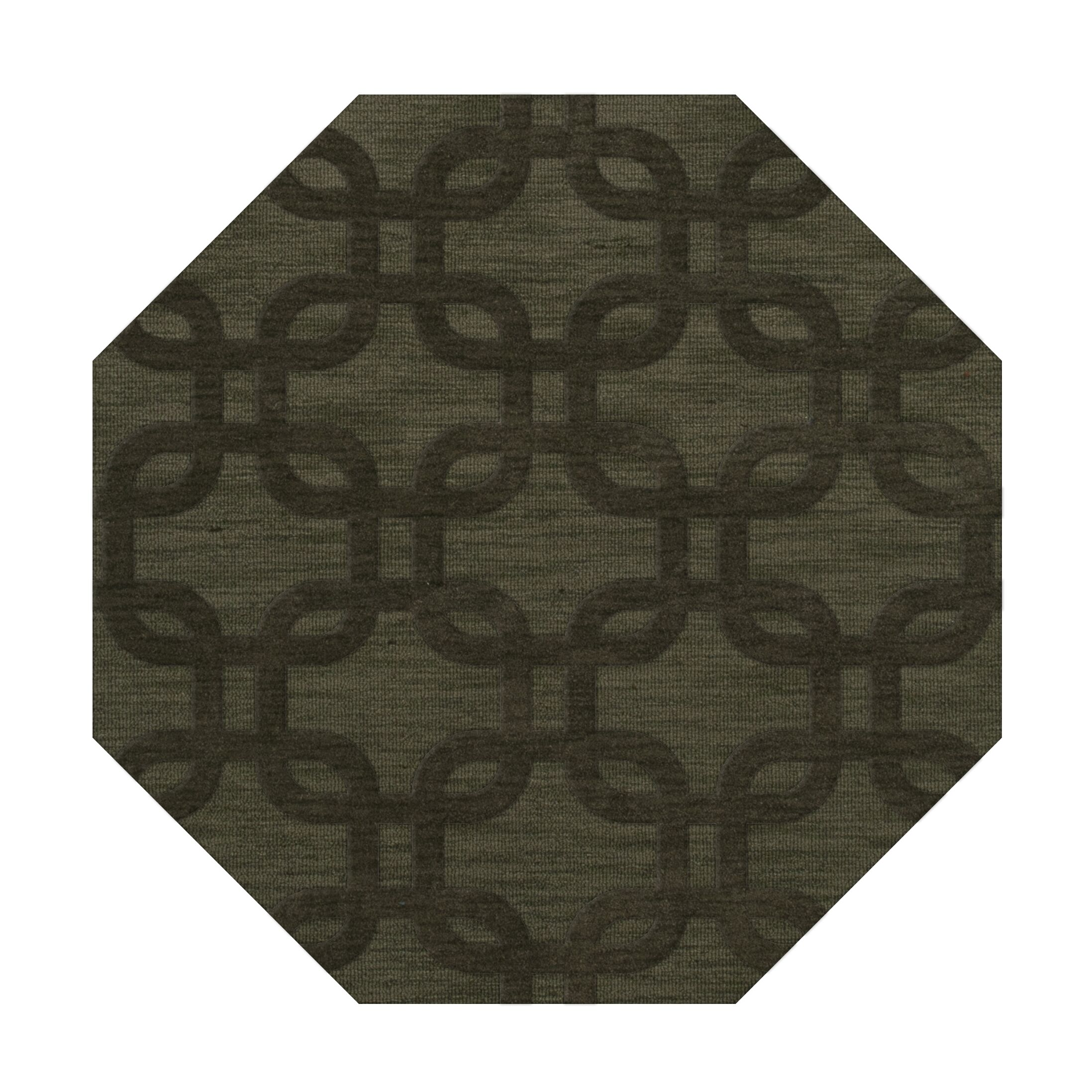 Dover Fern Area Rug Rug Size: Octagon 12'