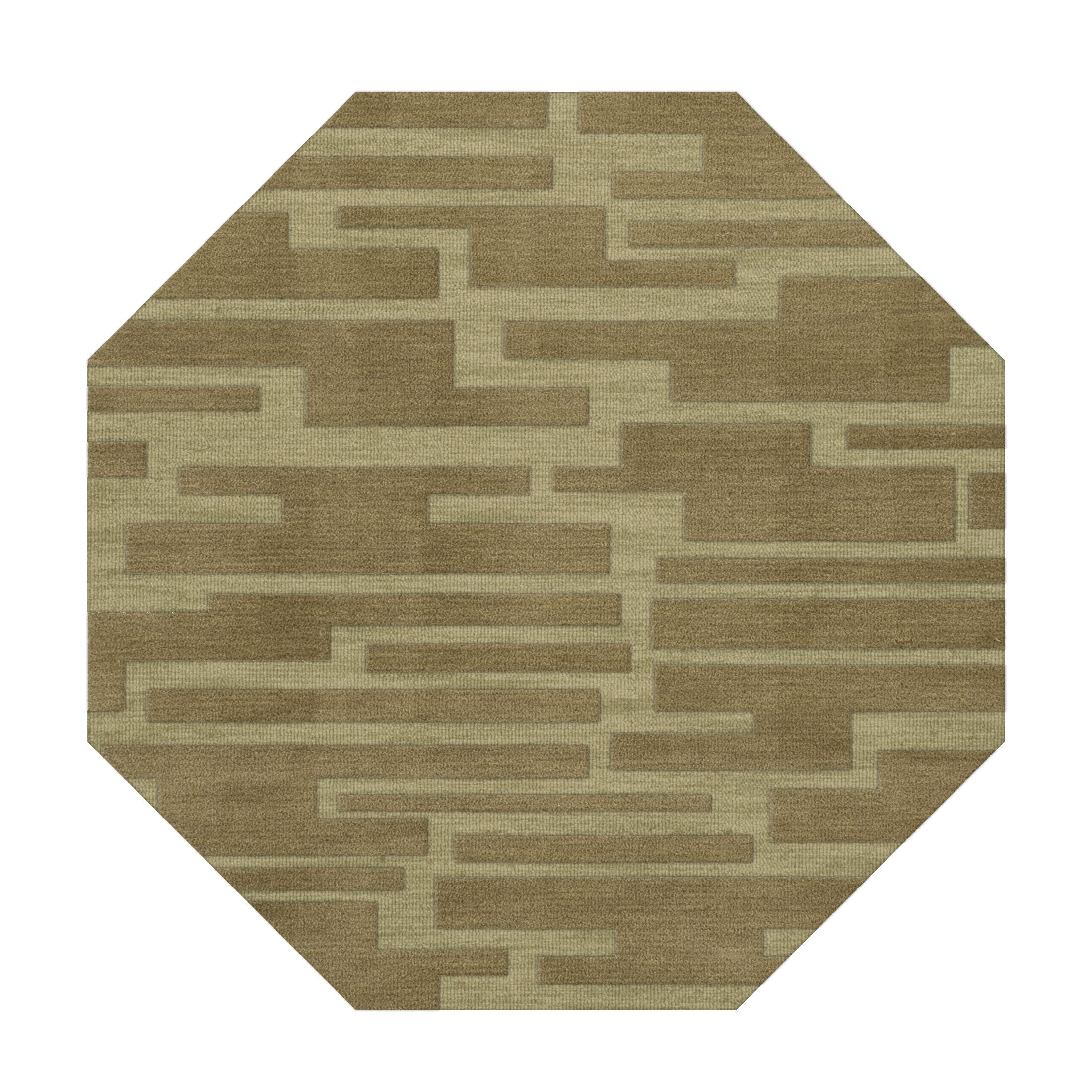 Dover Marsh Area Rug Rug Size: Octagon 4'