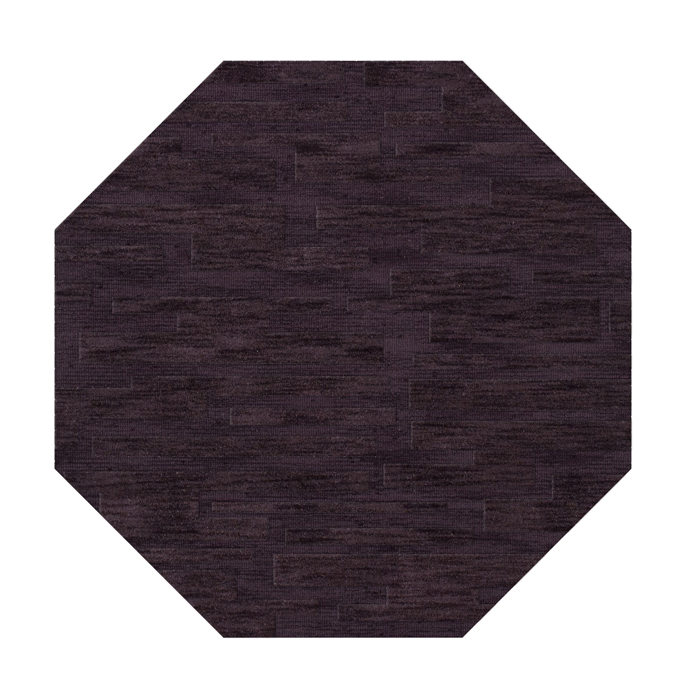 Dover Grape Ice Area Rug Rug Size: Octagon 4'