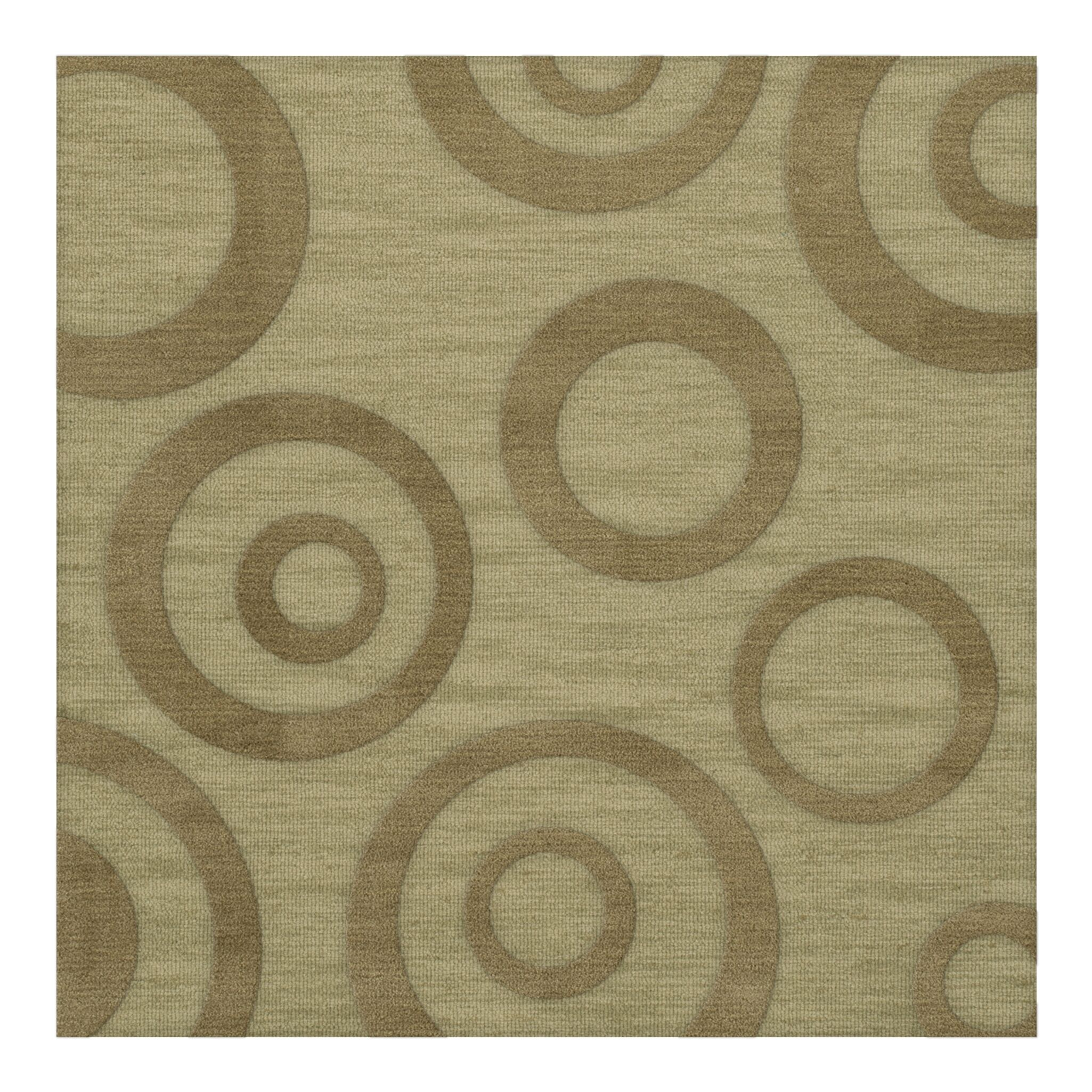 Dover Tufted Wool Marsh Area Rug Rug Size: Square 12'