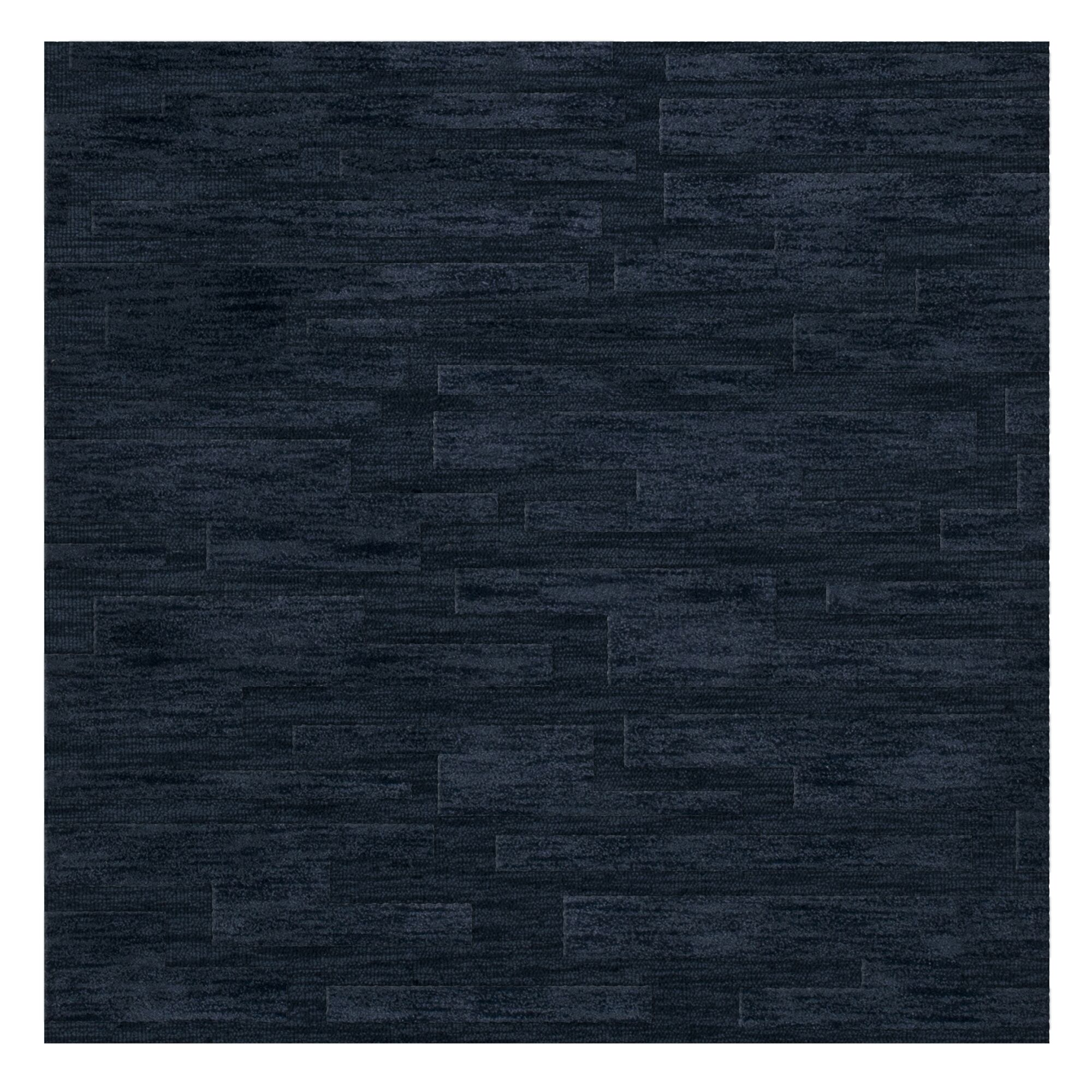 Dover Navy Area Rug Rug Size: Square 6'