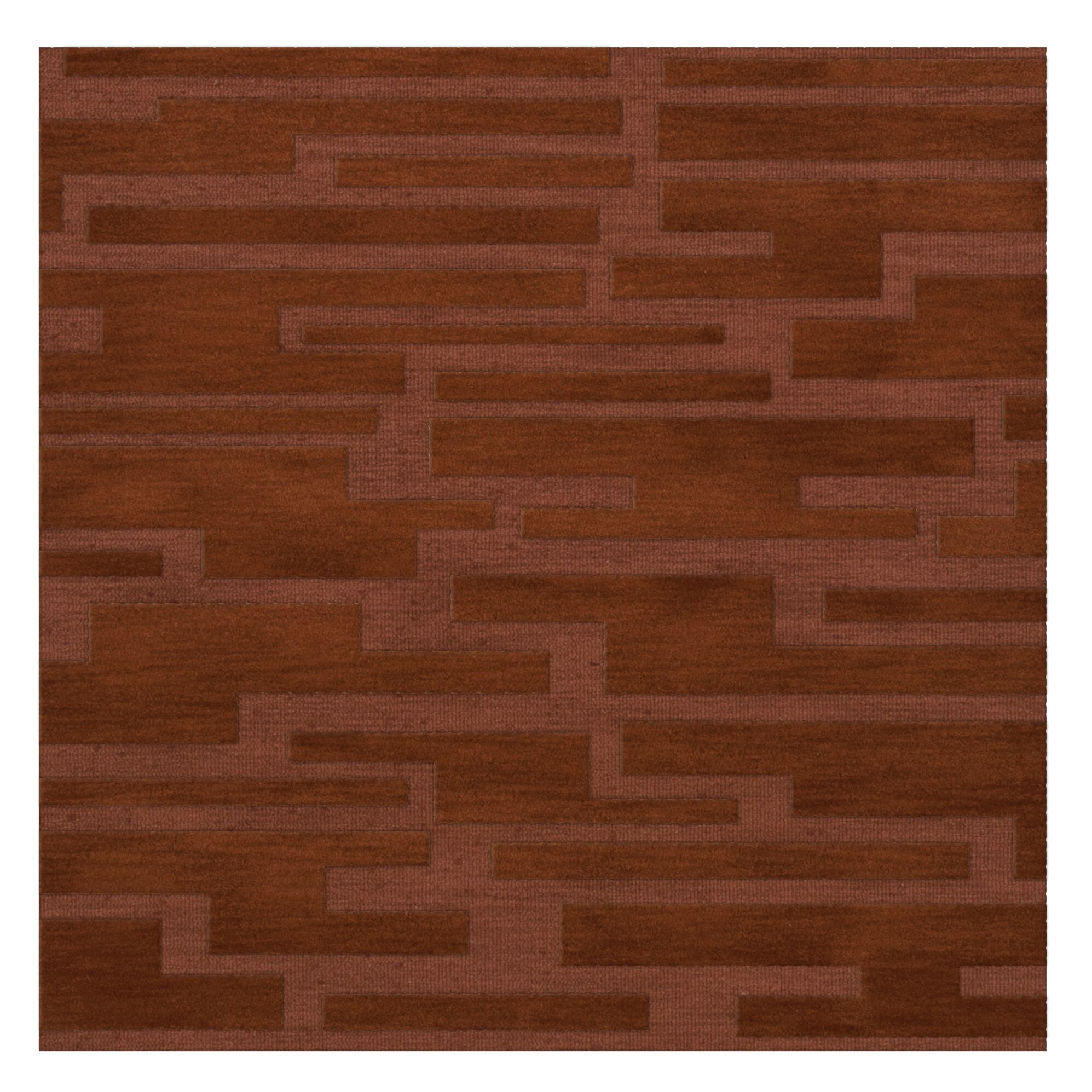 Dover Spice Area Rug Rug Size: Square 12'