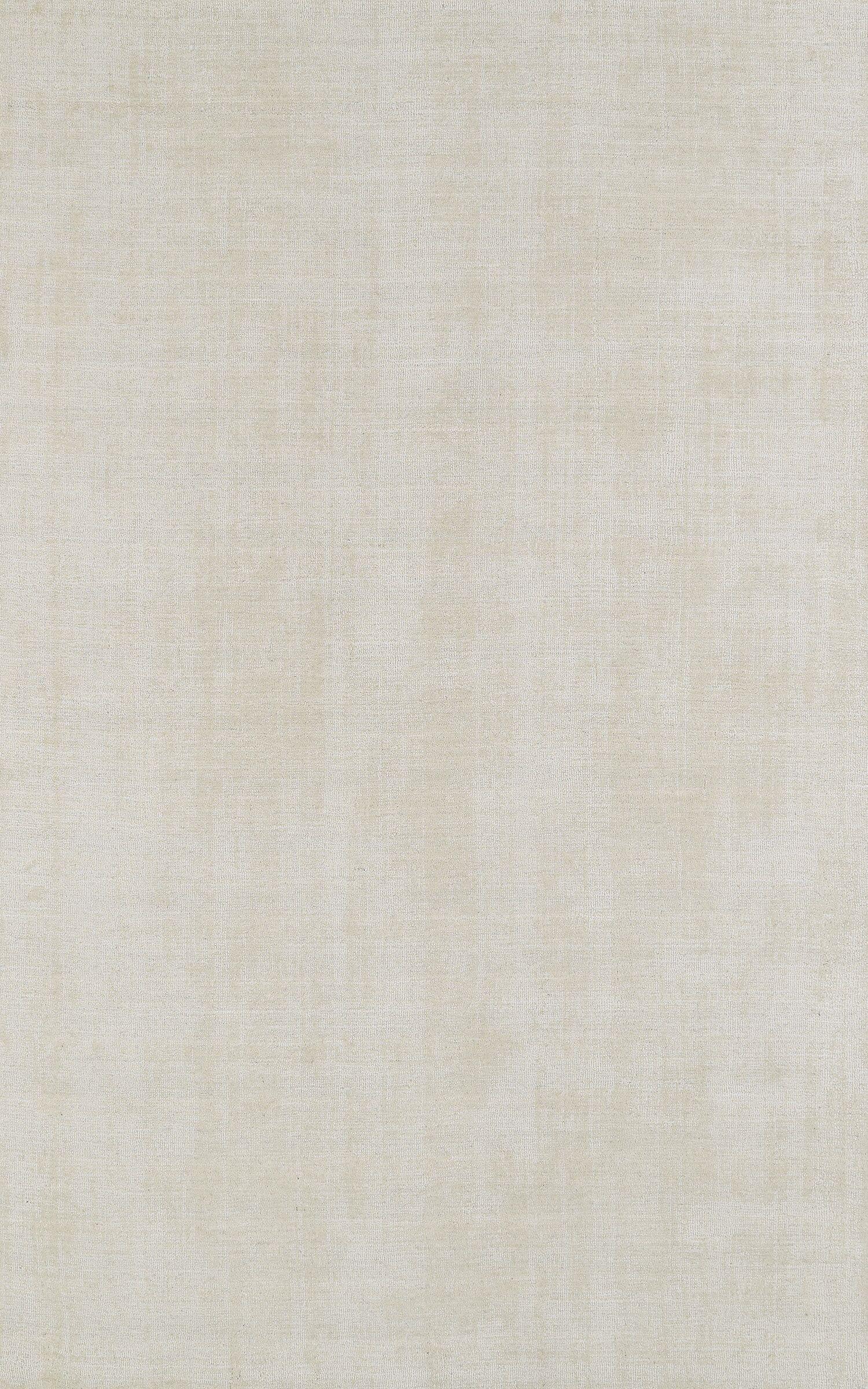 Tasha Ivory Area Rug Rug Size: 3'6