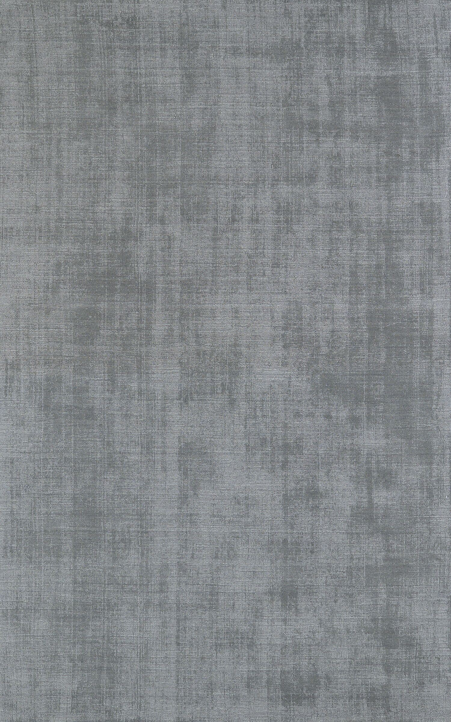 Tasha Silver Area Rug Rug Size: 5' x 7'6