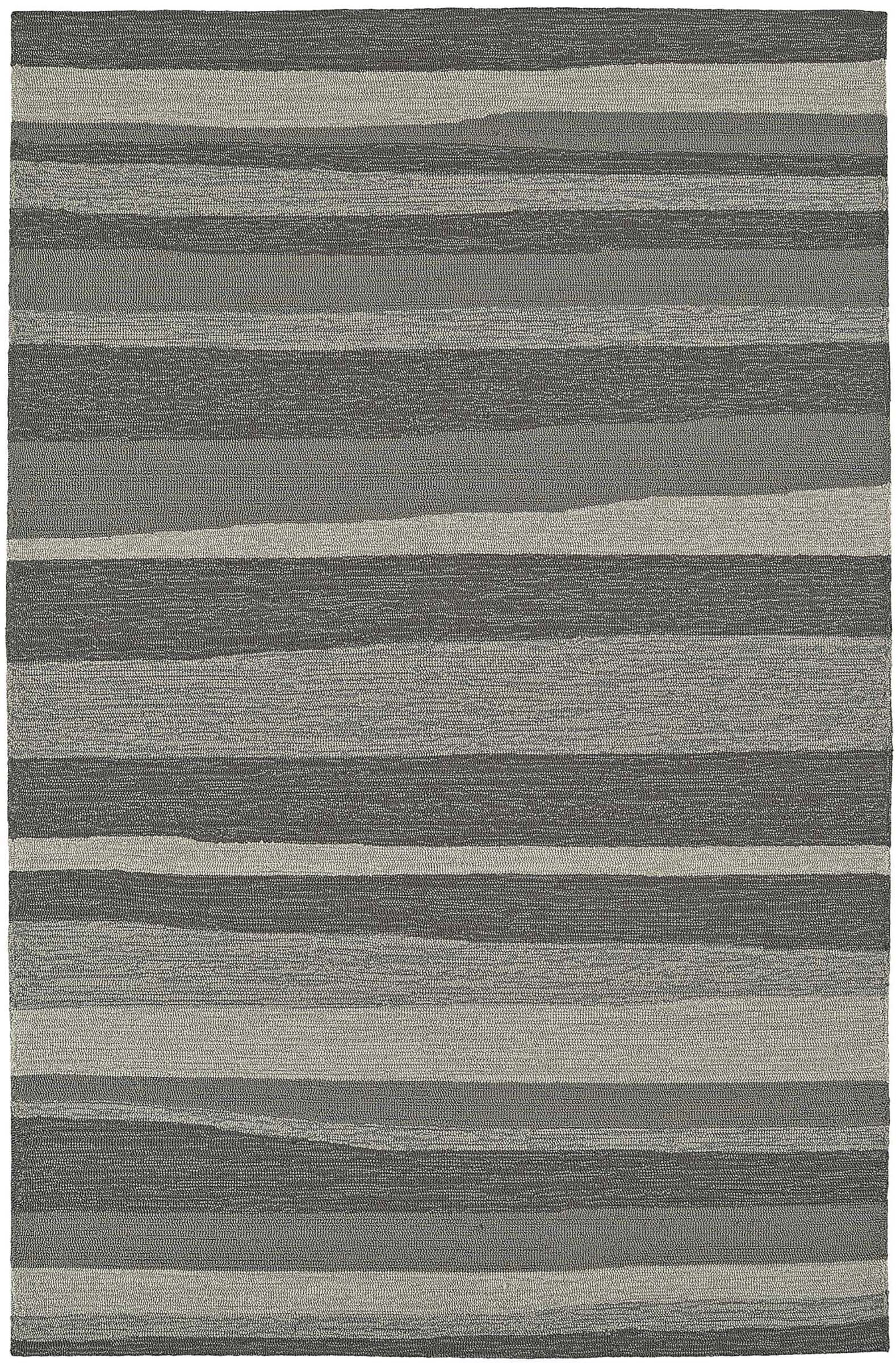 Lovitz Hand-Tufted Pewter Indoor/Outdoor Area Rug Rug Size: Rectangle 8' x 10'