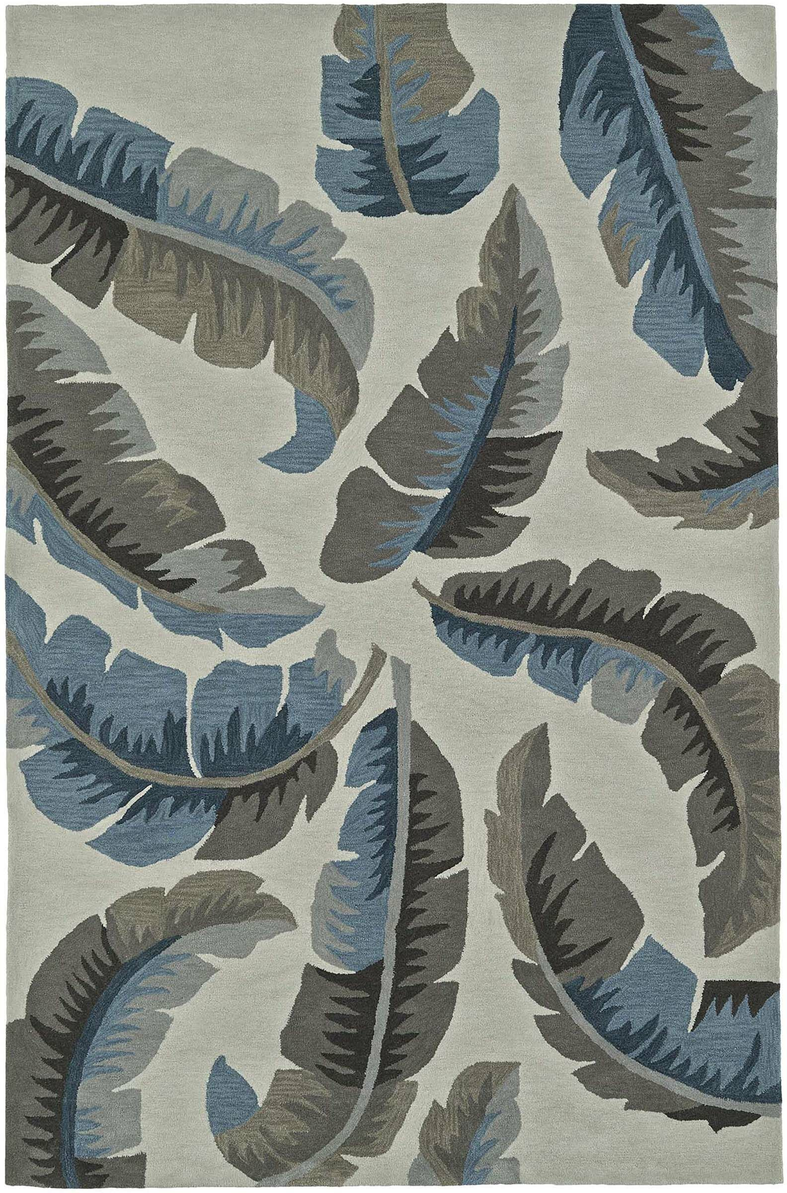 Maui Linen Area Rug Rug Size: Rectangle 8' x 10'
