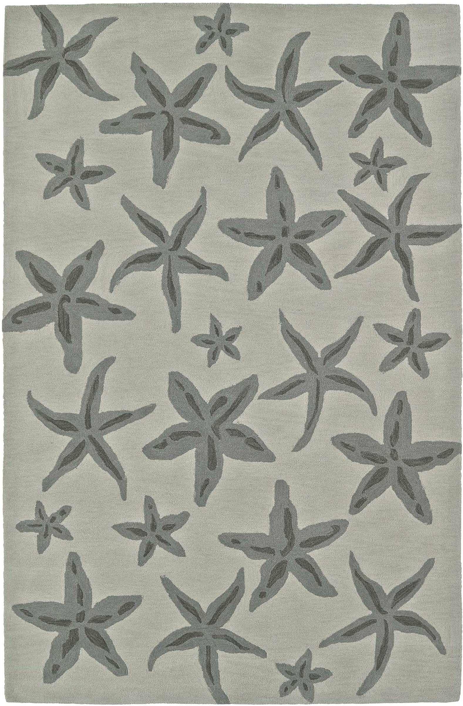 Bovina Hand-Tufted Linen Area Rug Rug Size: Rectangle 3'6