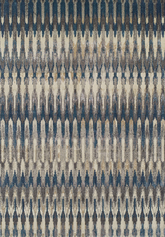 Caleb Teal Area Rug Rug Size: Rectangle 9'6