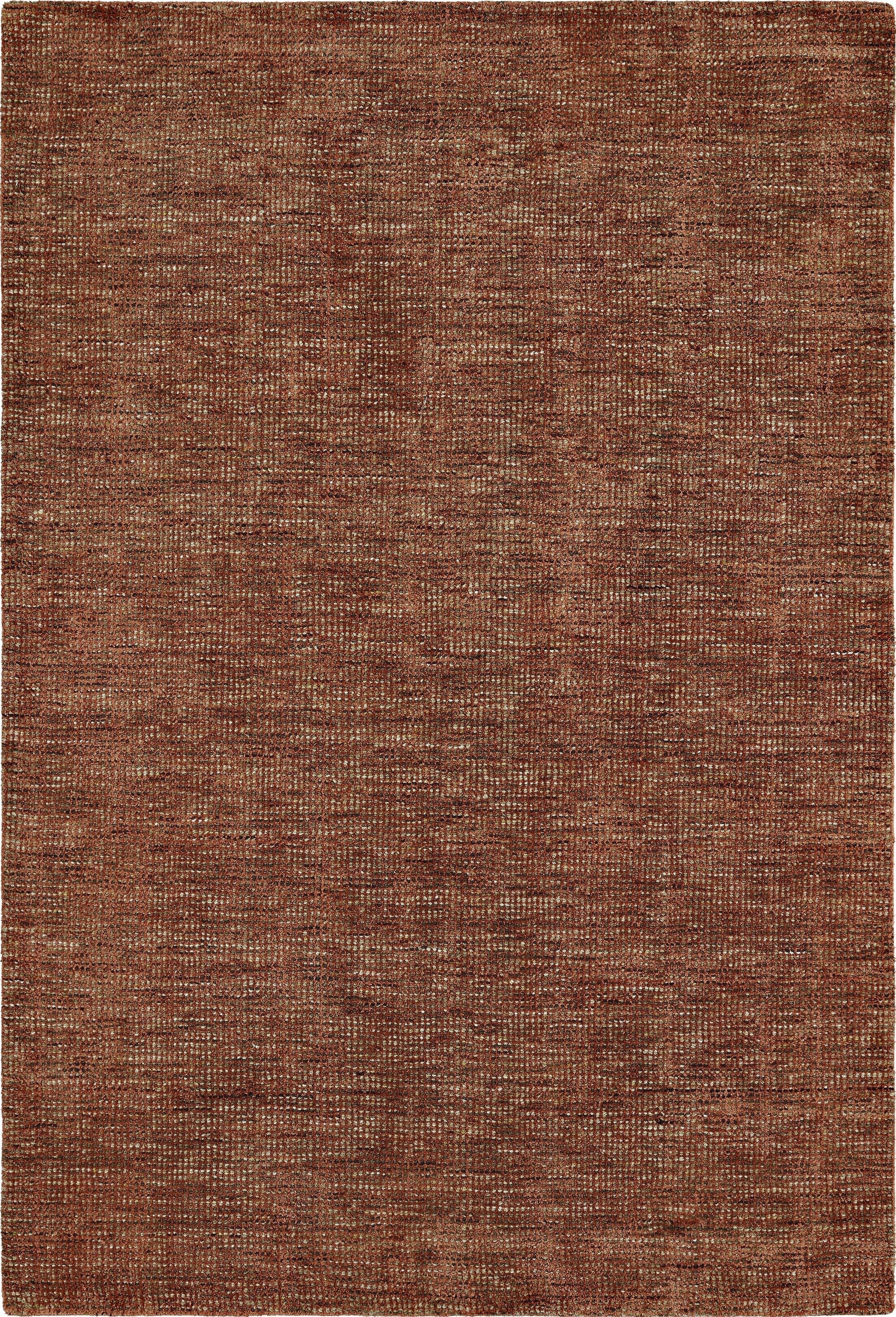 Toro Hand-Loomed Paprika Area Rug Rug Size: Rectangle 5' x 7'6