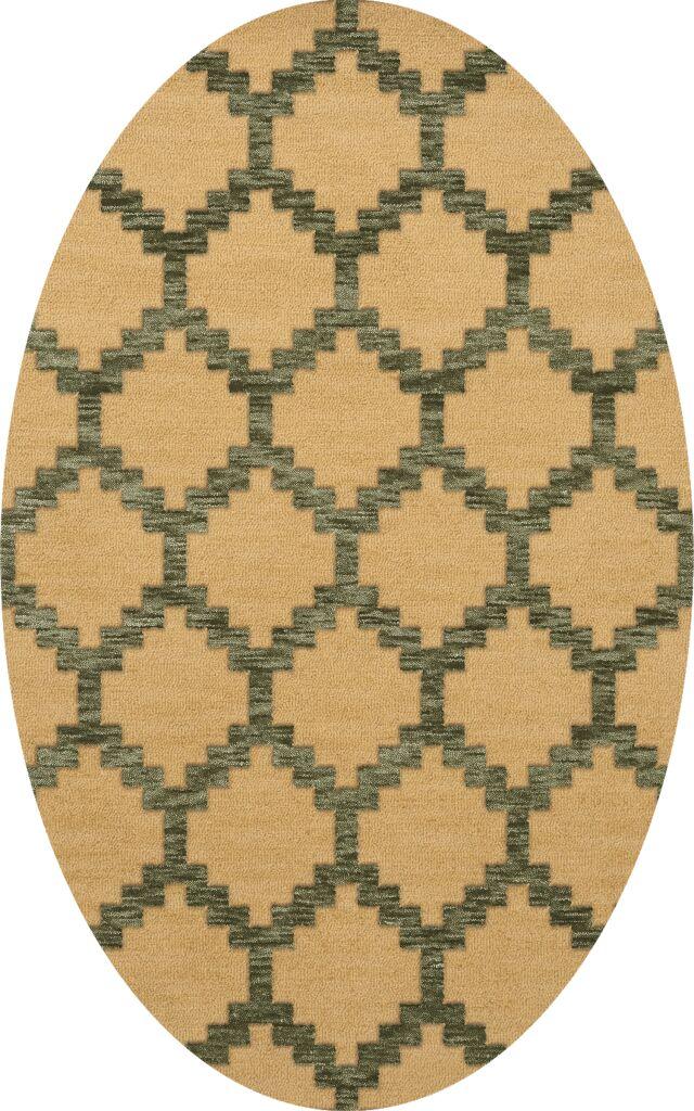 Bella Beige Area Rug Rug Size: Oval 10' x 14'
