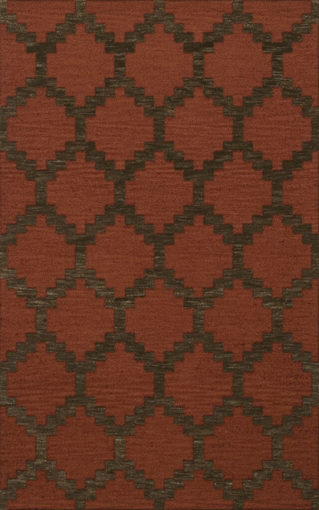 Bella Brown Area Rug Rug Size: Rectangle 9' x 12'