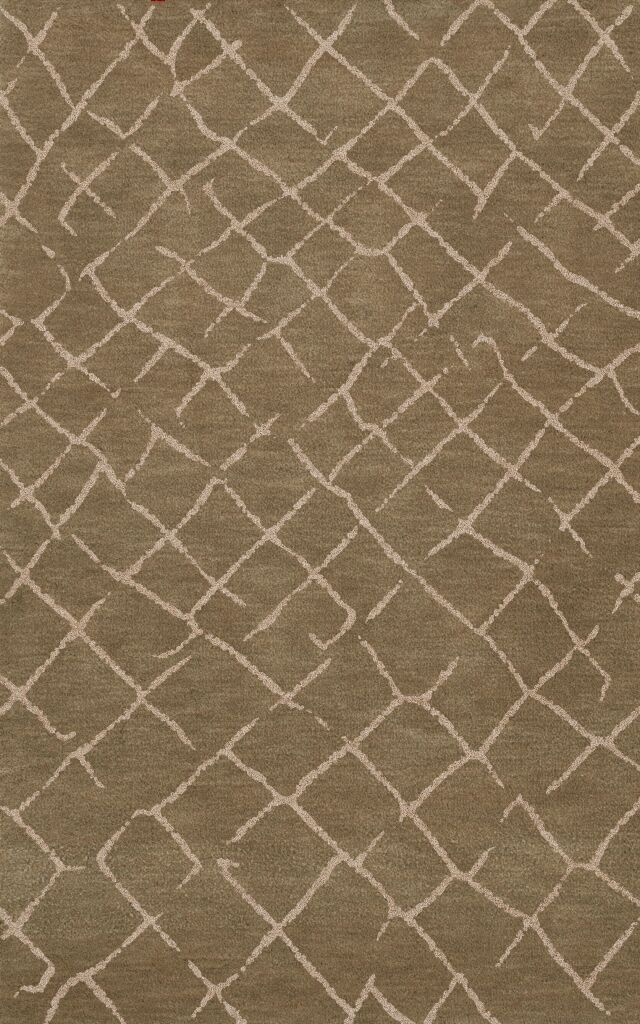 Bella Machine Woven Wool Brown Area Rug Rug Size: Rectangle 3' x 5'