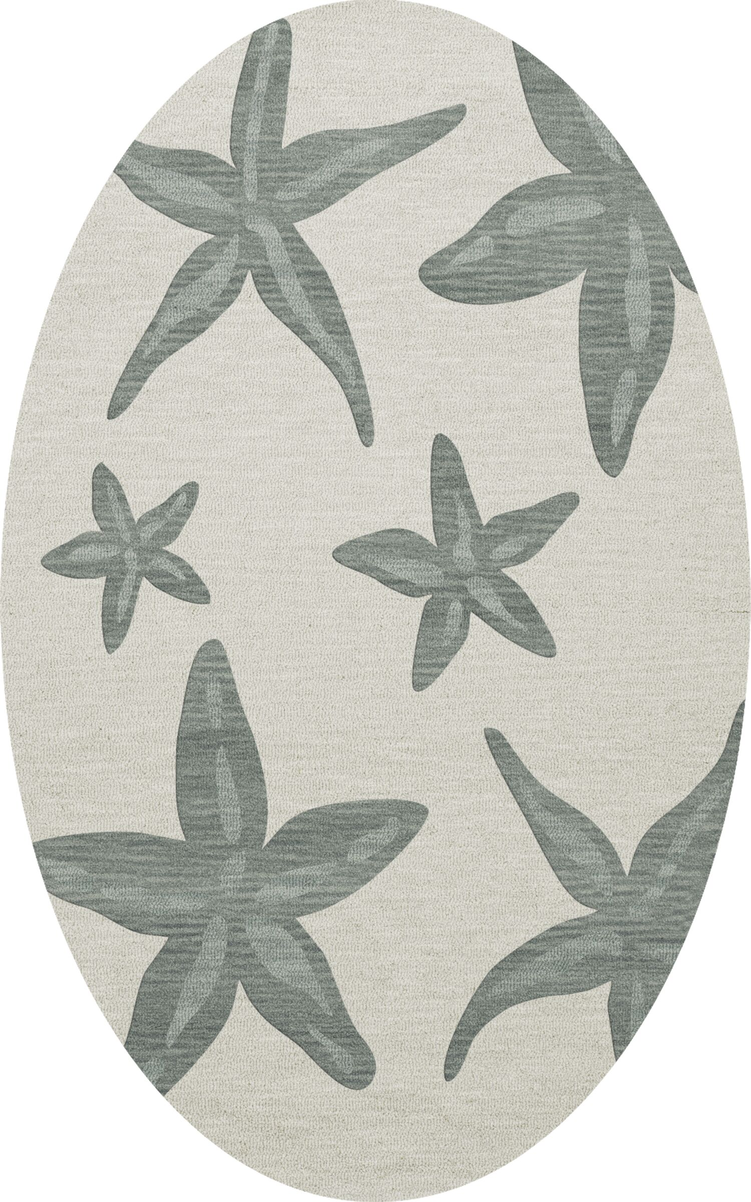 Bella Machine Woven Wool Gray Area Rug Rug Size: Oval 12' x 15'
