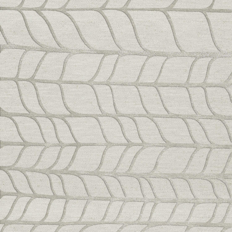 Bella Gray Area Rug Rug Size: Square 8'