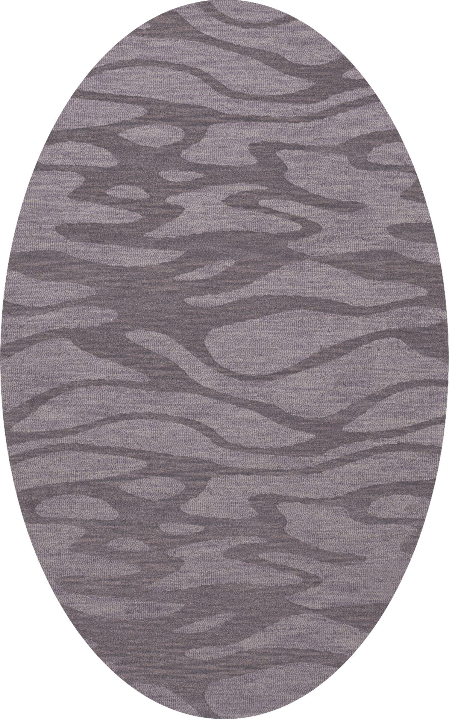 Bella Purple Area Rug Rug Size: Oval 9' x 12'