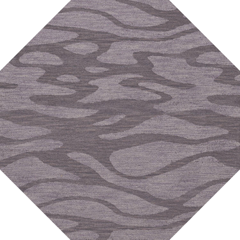 Bella Purple Area Rug Rug Size: Octagon 10'