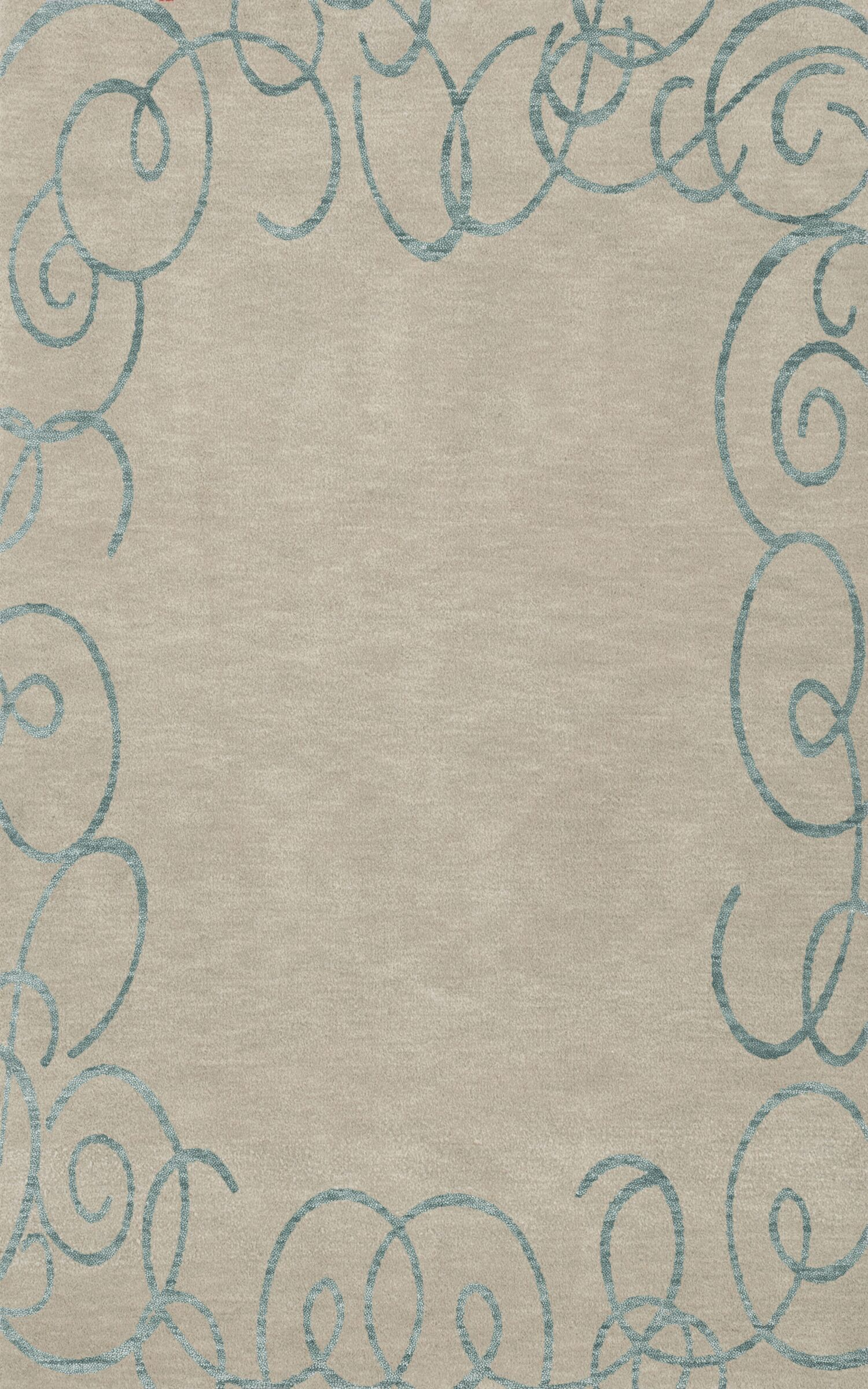 Bella Beige Area Rug Rug Size: Rectangle 6' x 9'