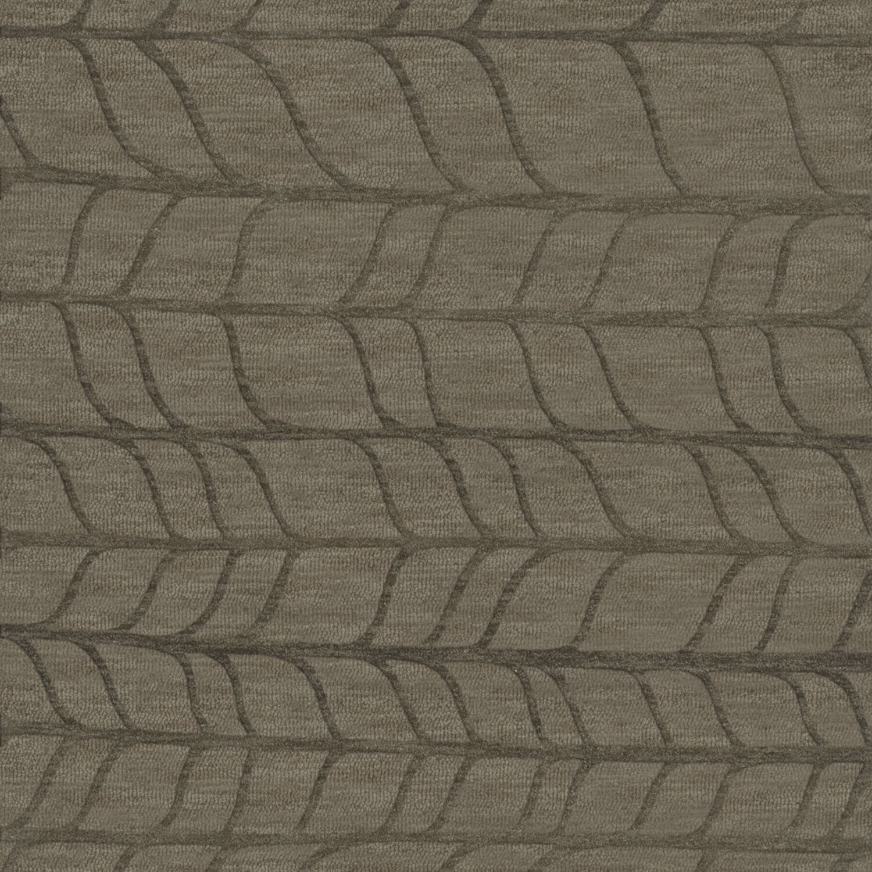 Bella Gray Area Rug Rug Size: Square 6'