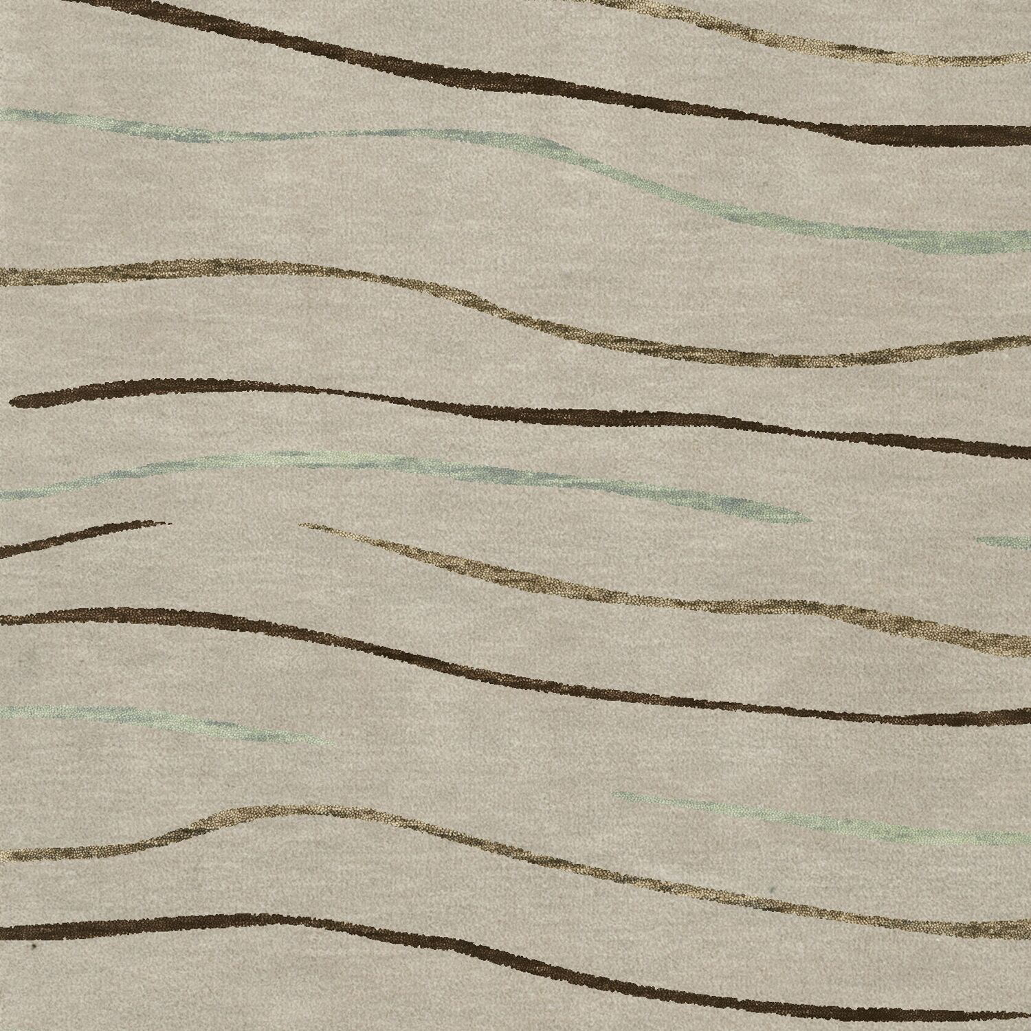 Bella Gray Area Rug Rug Size: Square 10'