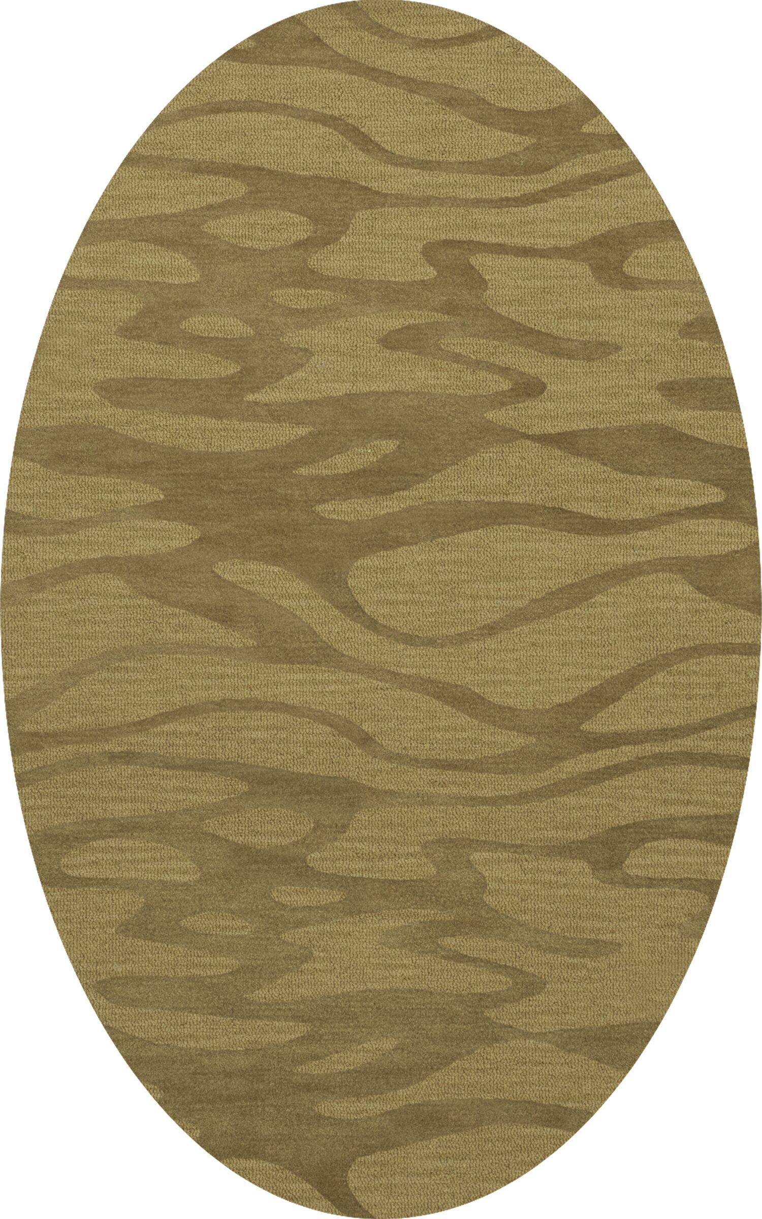 Bella Area Rug Rug Size: Oval 3' x 5'